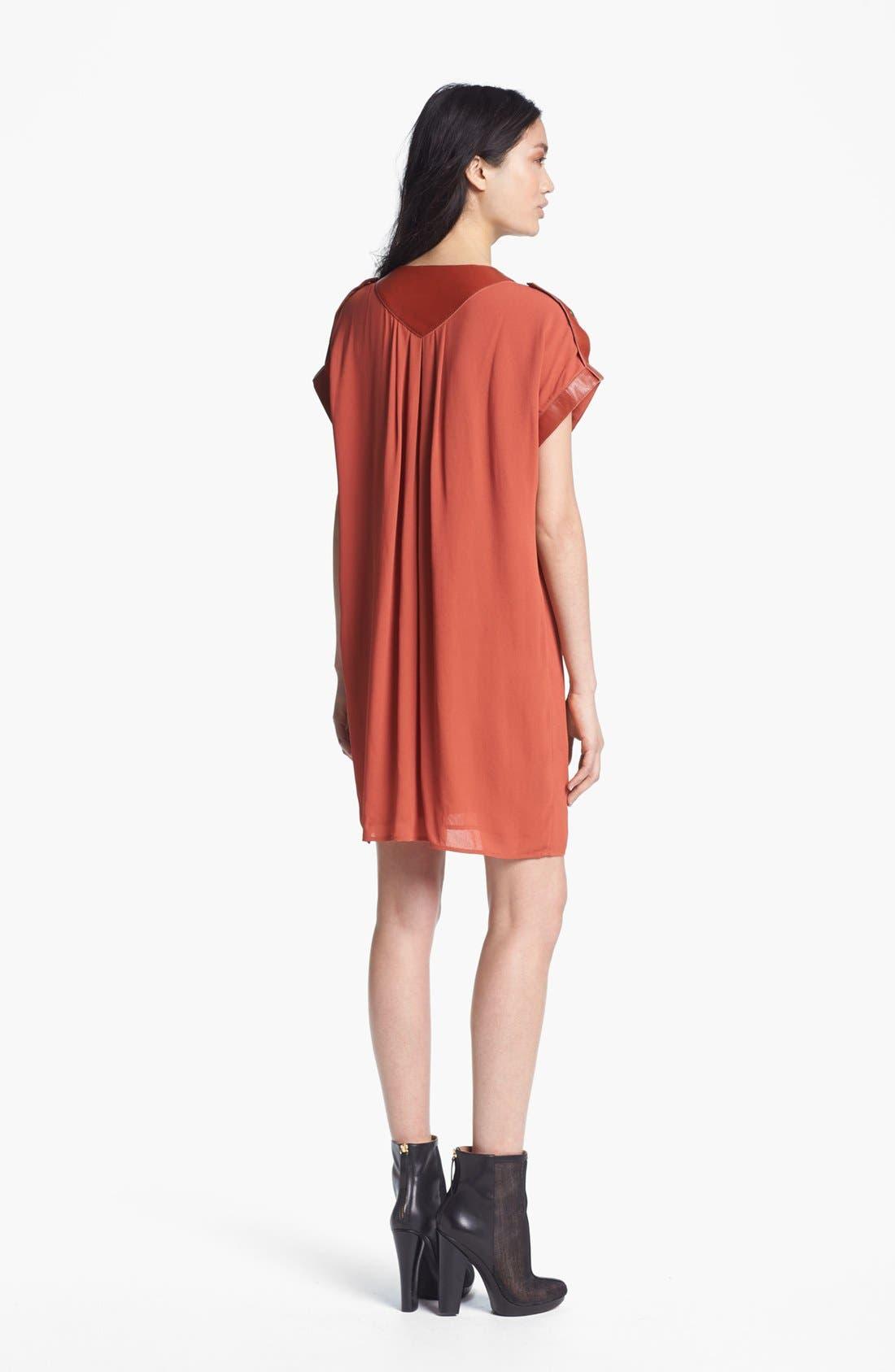 Alternate Image 2  - Rachel Zoe 'Reyna' Crepe Dress