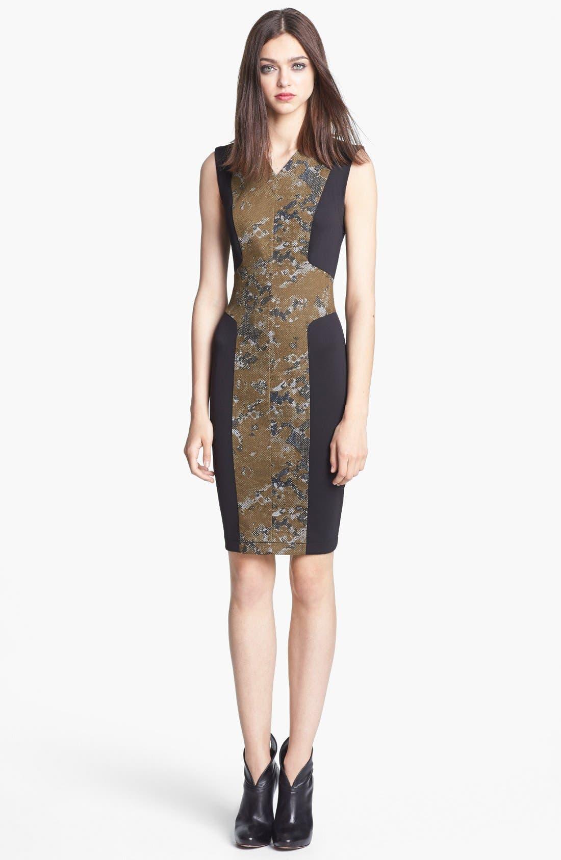 Main Image - Robert Rodriguez Framed Print Dress