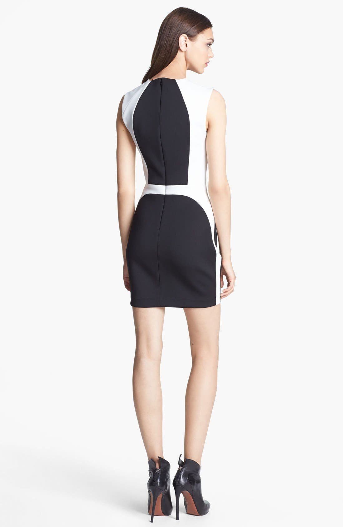 Alternate Image 2  - Robert Rodriguez Framed Techno Minidress (Nordstrom Exclusive)