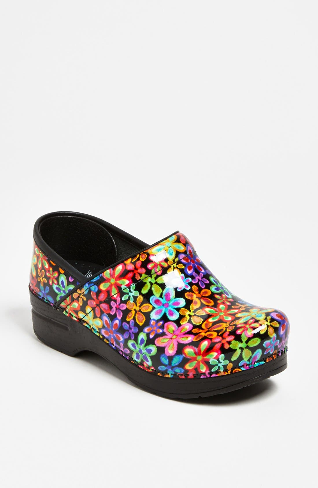 Alternate Image 1 Selected - Dansko 'Professional - Flower Power' Clog