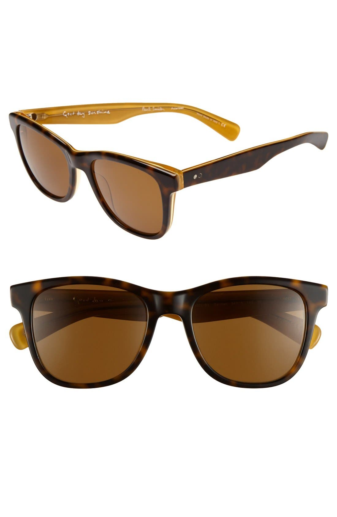 Alternate Image 1 Selected - Paul Smith 'Berman' 54mm Polarized Sunglasses