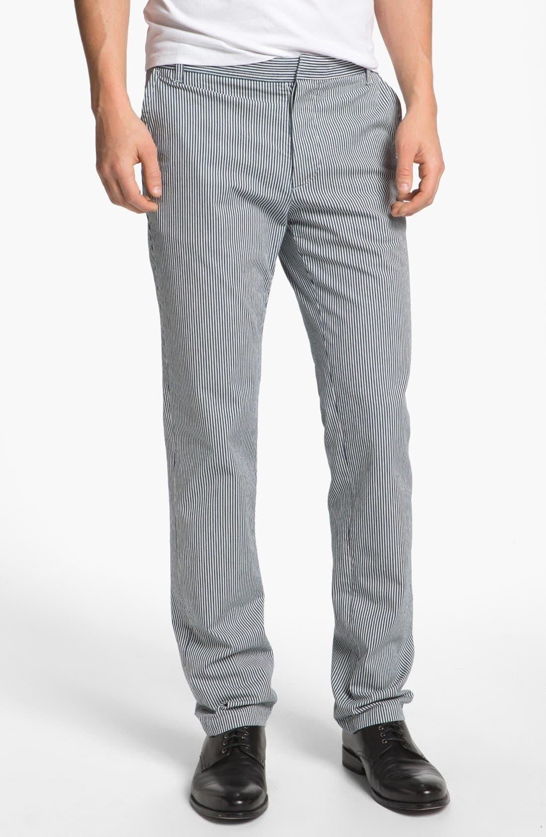 Main Image - A.P.C. 'New Chino' Stripe Pants