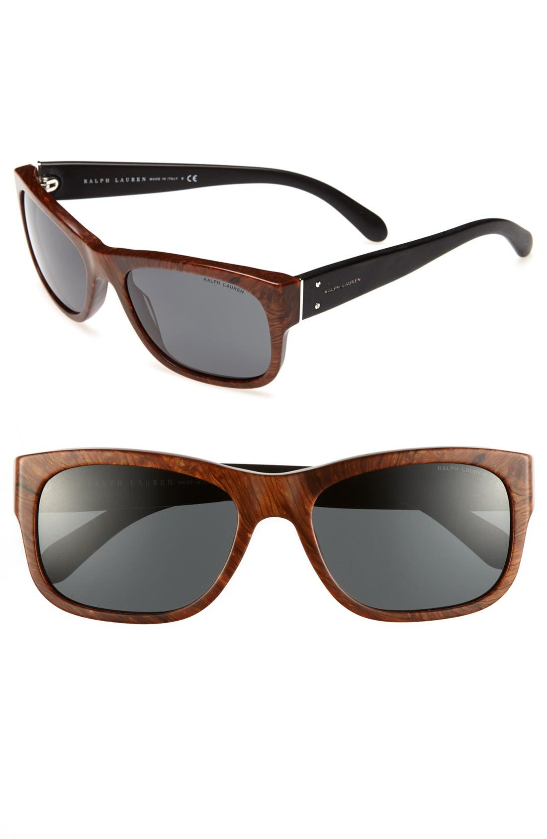Alternate Image 1 Selected - Polo Ralph Lauren 57mm Sunglasses