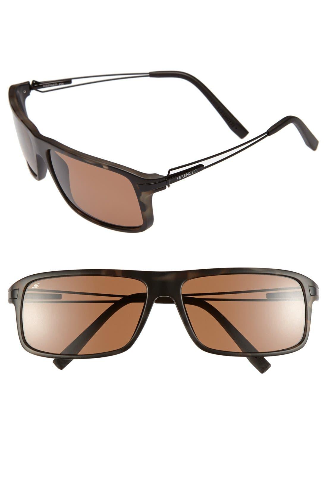 Main Image - Serengeti 'Rivoli' 65mm Polarized Sunglasses