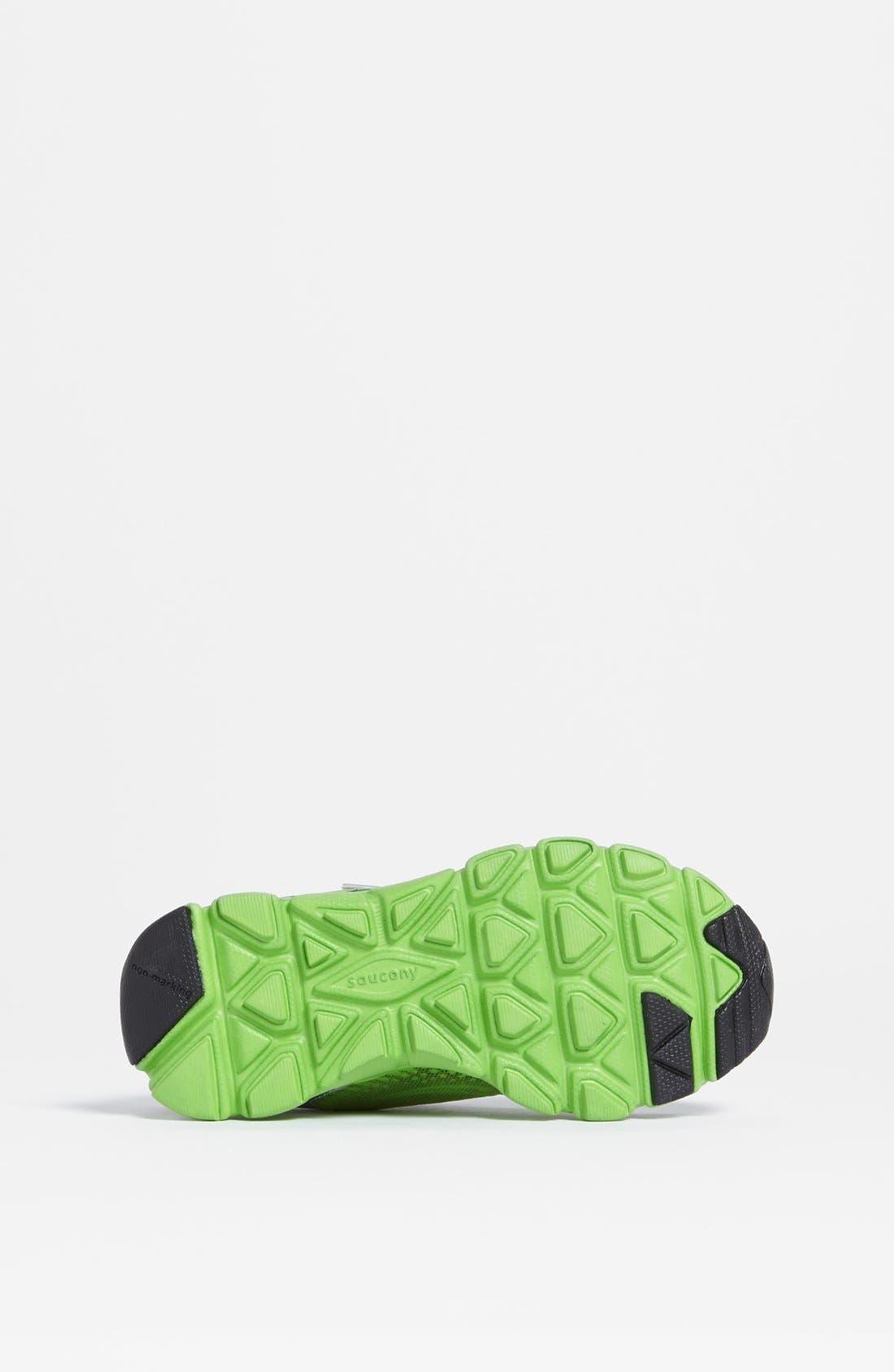 Alternate Image 4  - Saucony 'Virrata' Sneaker (Toddler & Little Kid)