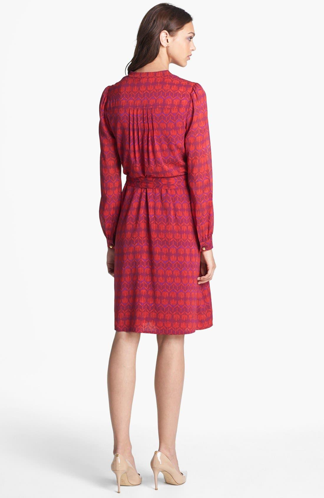 Alternate Image 2  - Tory Burch 'Judi' Silk Shirtdress