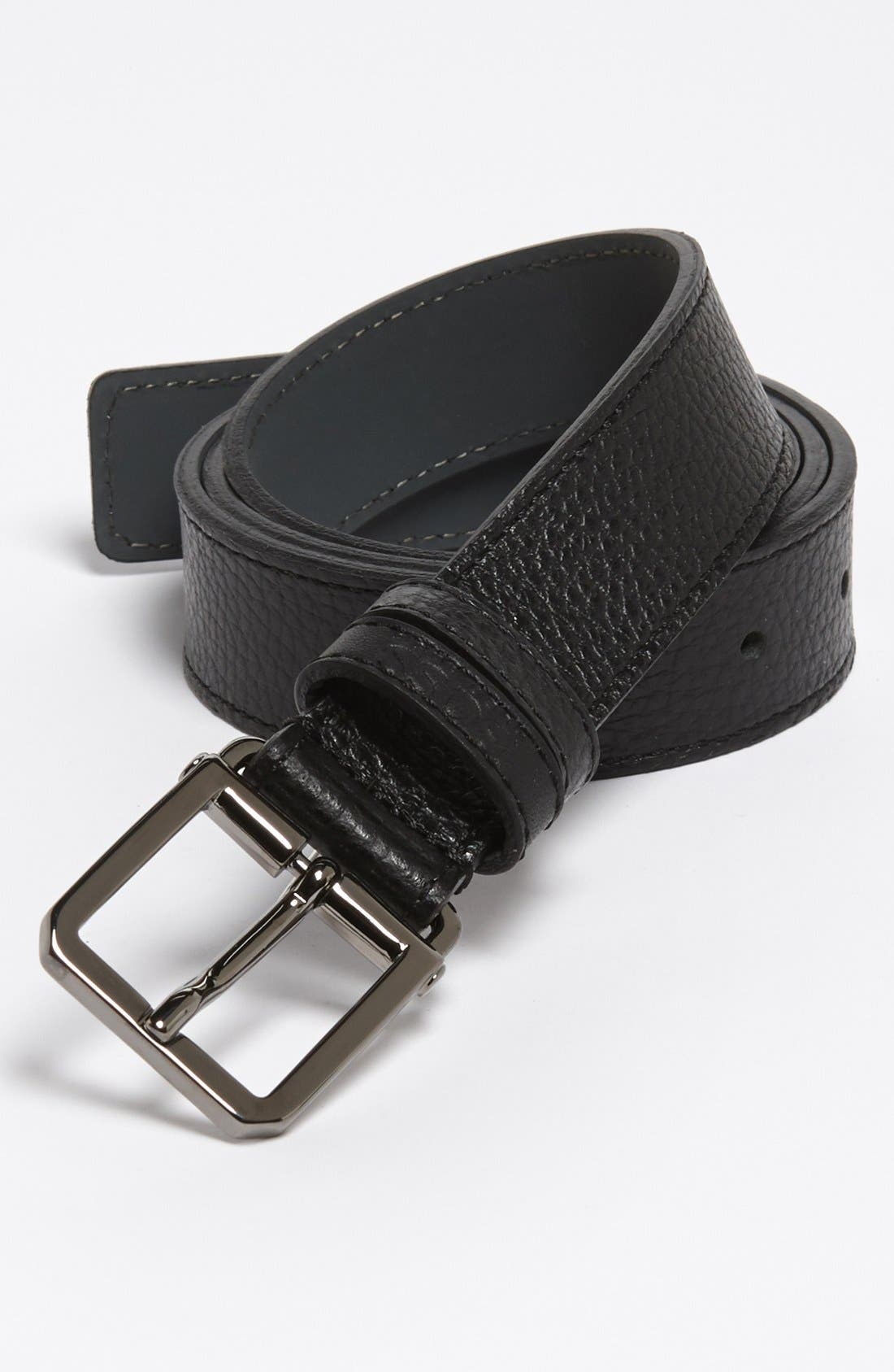 Alternate Image 1 Selected - BOSS HUGO BOSS 'Crosby' Leather Belt
