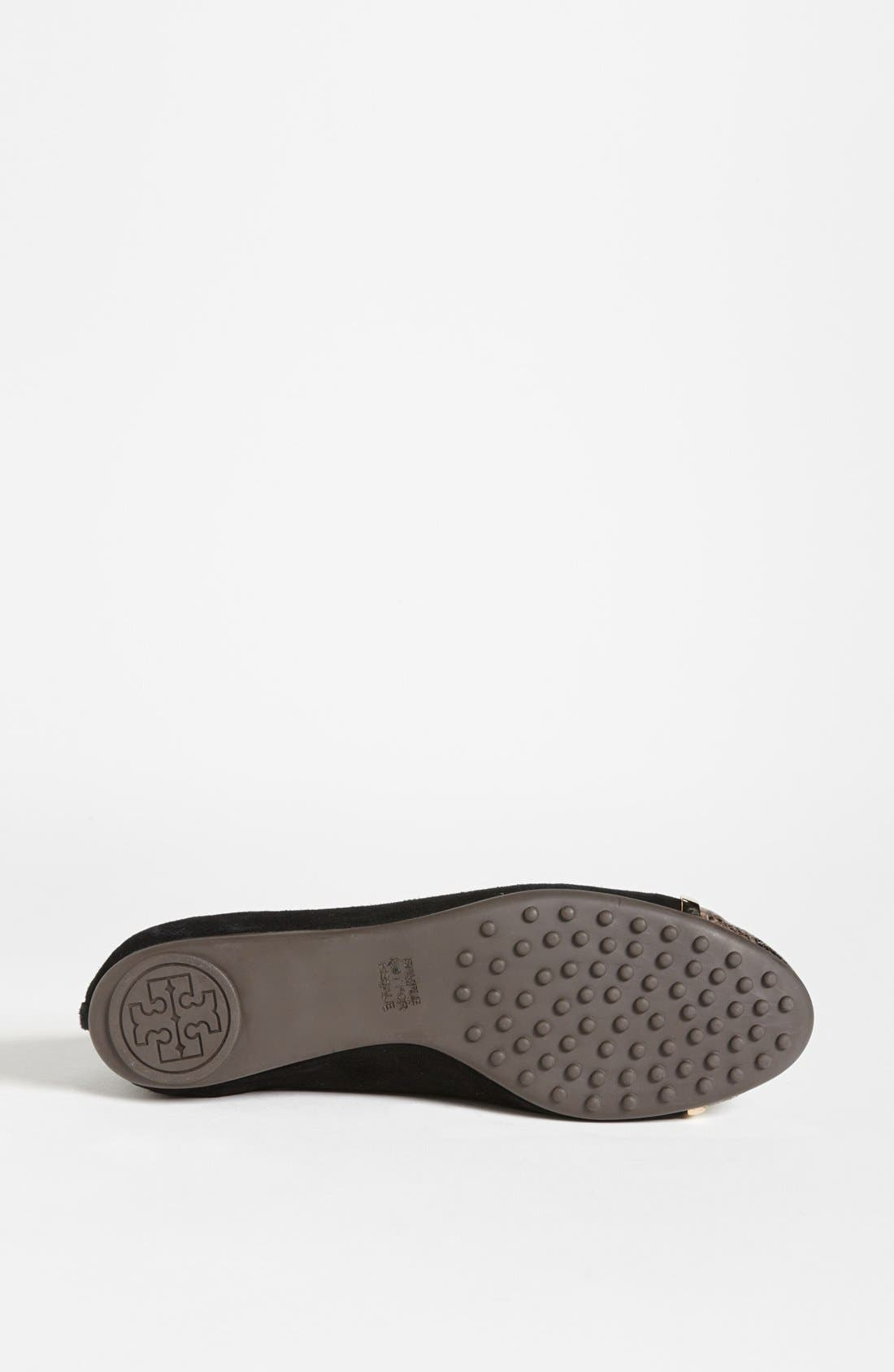 Alternate Image 4  - Tory Burch 'Pacey' Skimmer Flat