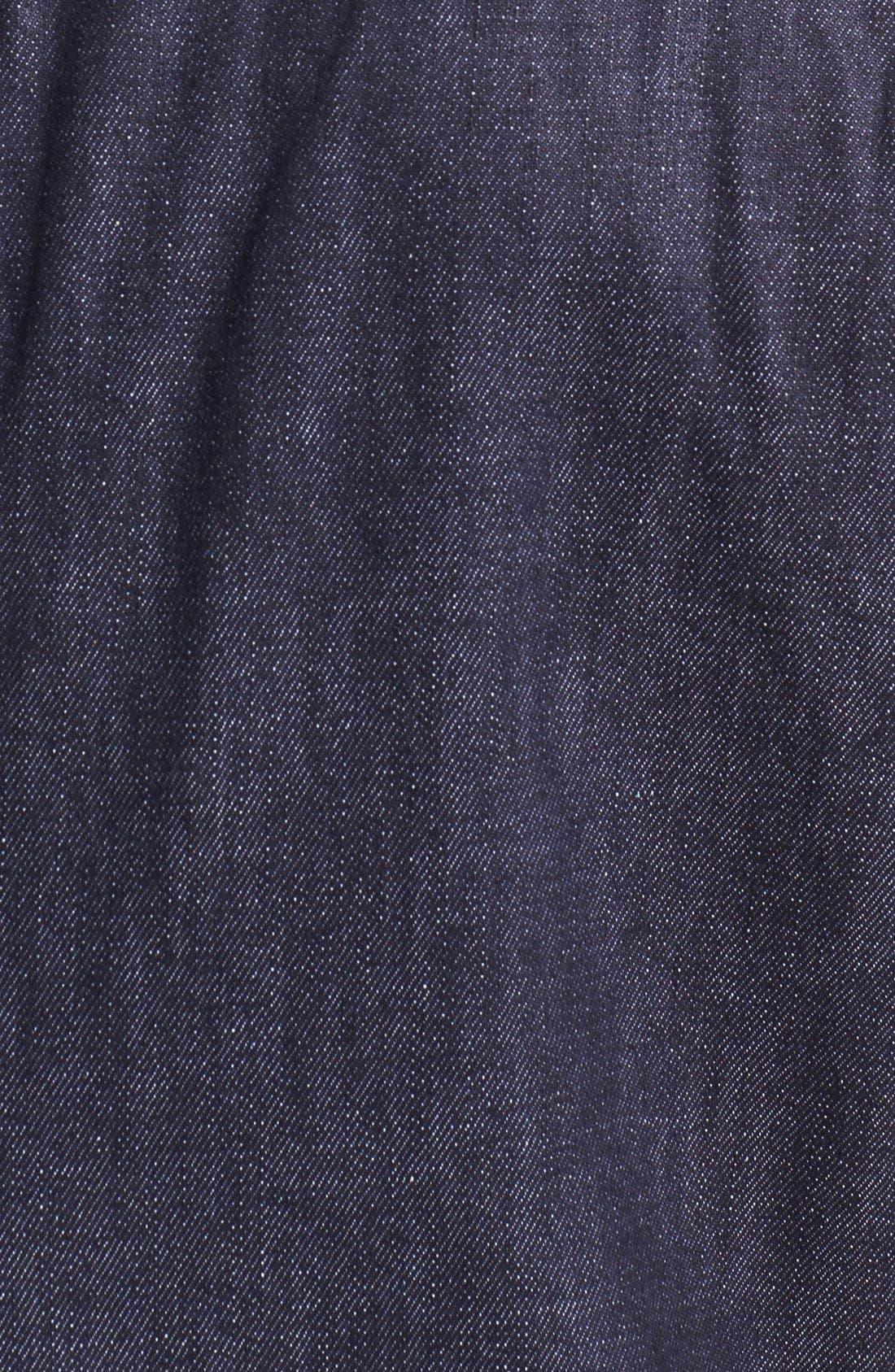 Alternate Image 3  - Denim & Leathers by Andrew Marc Café Racer Denim Jacket