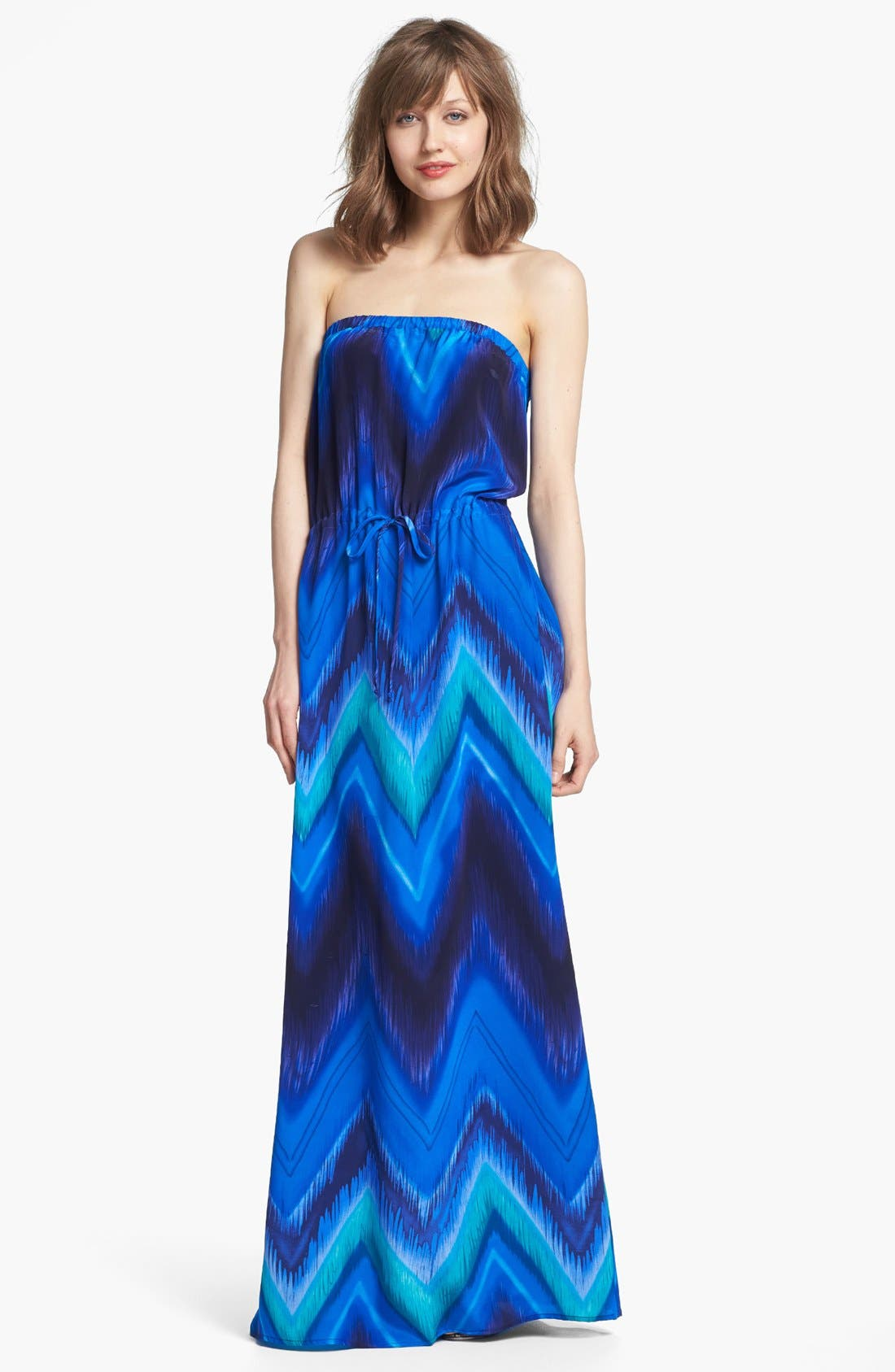 Main Image - Felicity & Coco Print Blouson Maxi Dress (Nordstrom Exclusive)