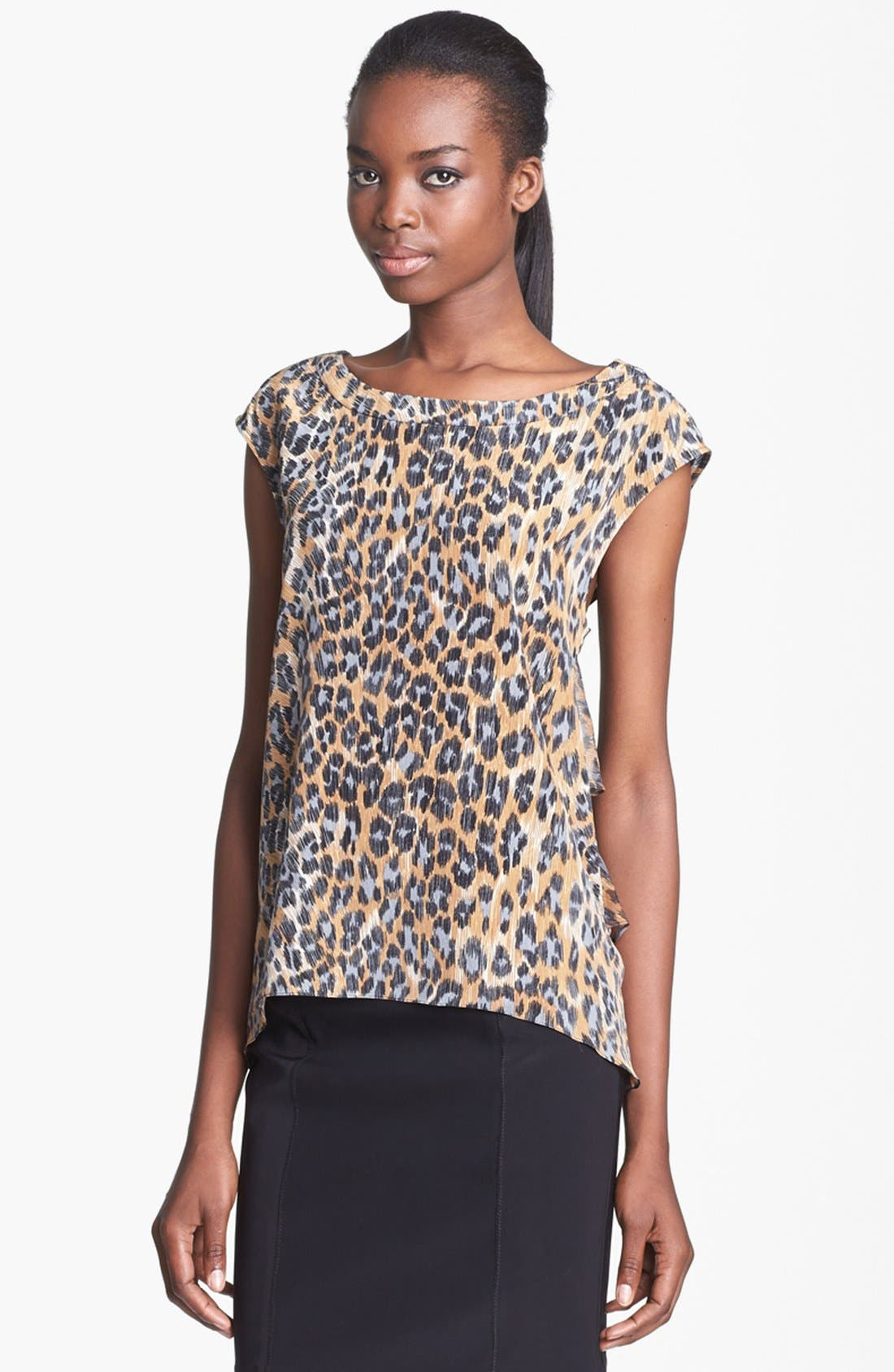 Alternate Image 1 Selected - Tracy Reese Print Silk Blouse
