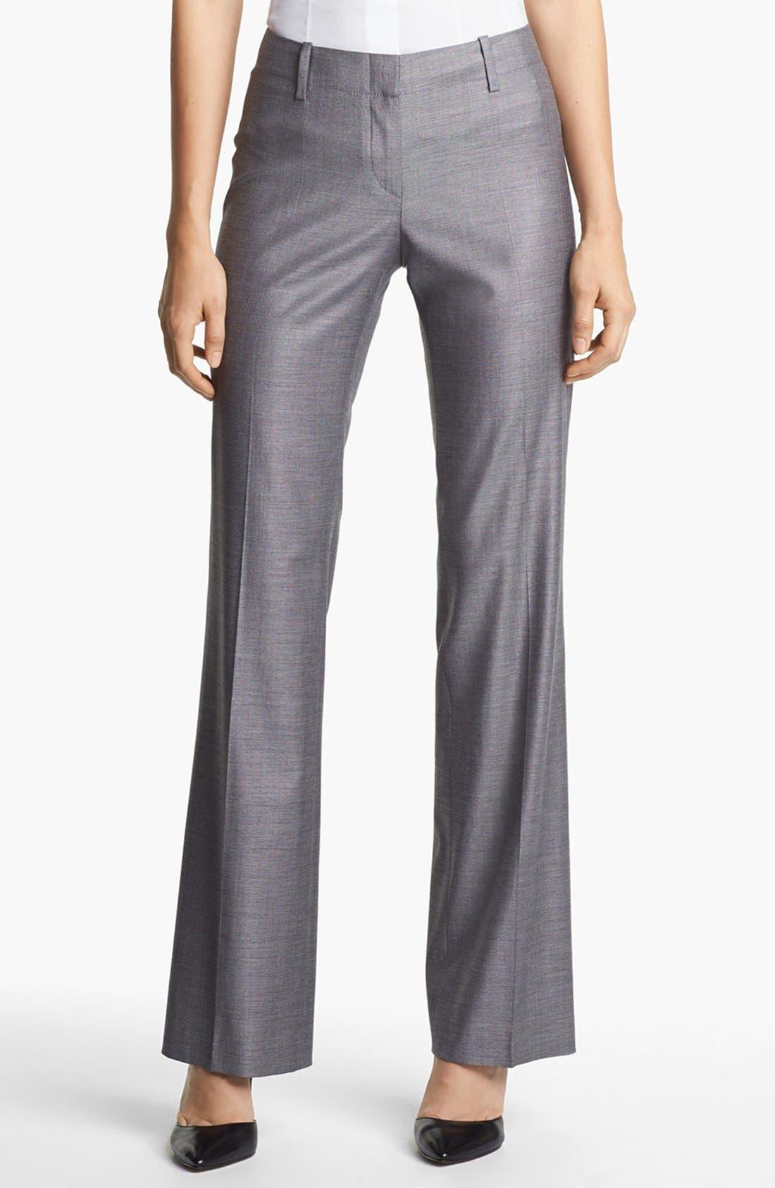 Alternate Image 1 Selected - BOSS HUGO BOSS 'Tulia' Trousers