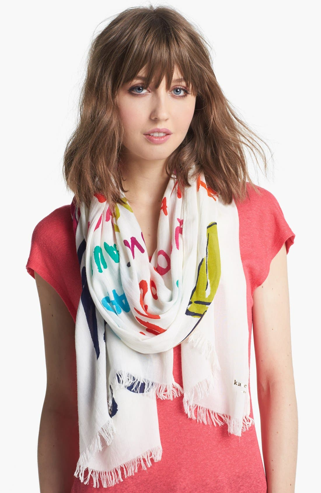 Alternate Image 1 Selected - kate spade new york 'popsicle' scarf
