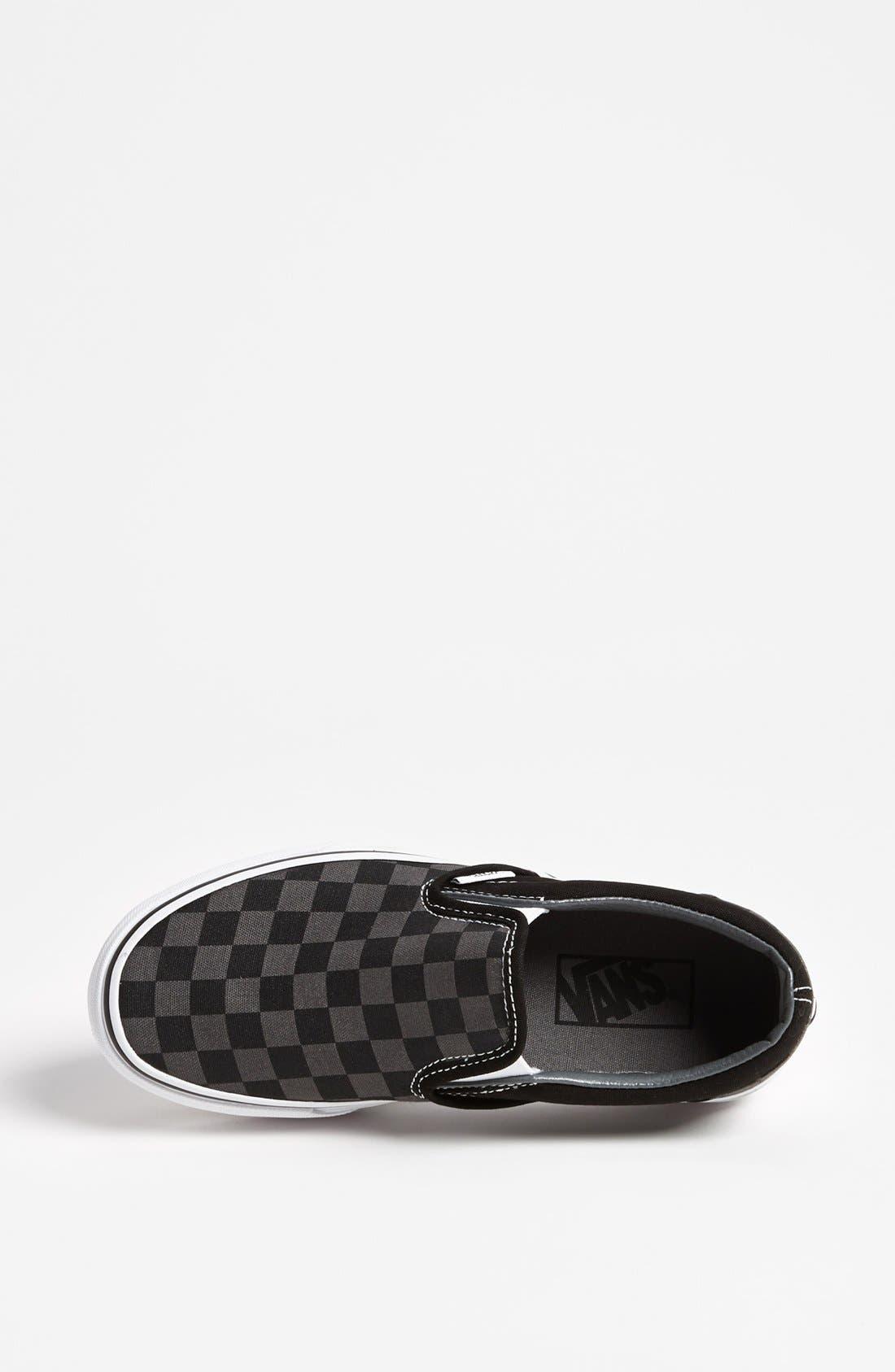 Alternate Image 3  - Vans 'Classic - Checker' Sneaker (Women)