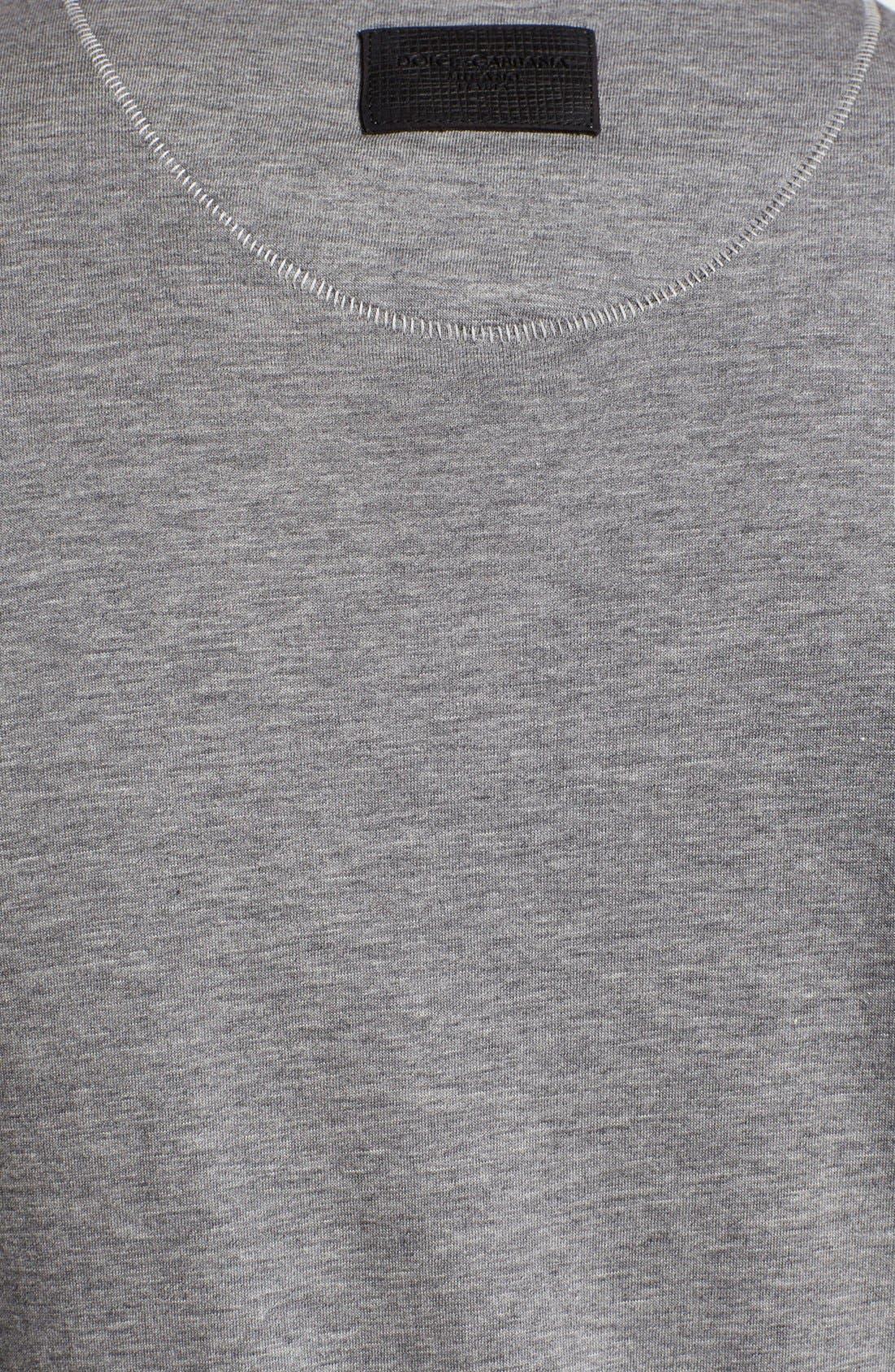 Alternate Image 3  - Dolce&Gabbana Logo V-Neck T-Shirt