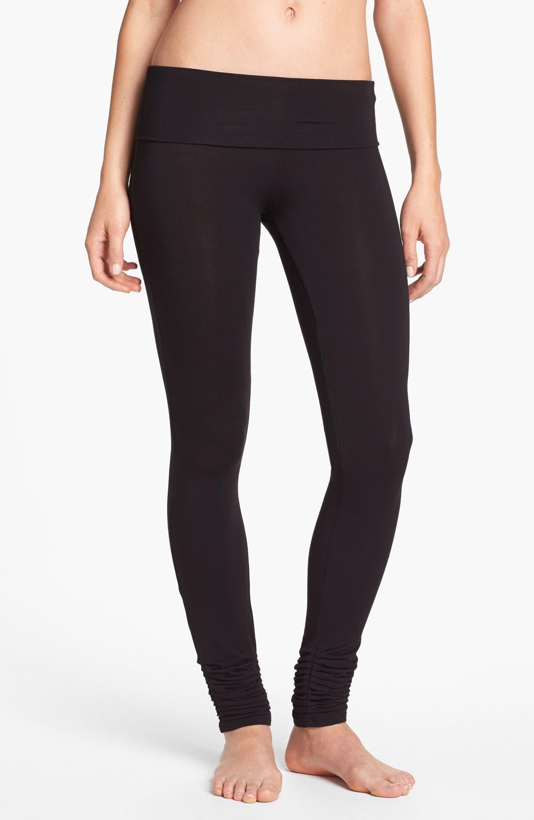 Main Image - DKNY 'Soho Mews Yoga Skinnies' Leggings