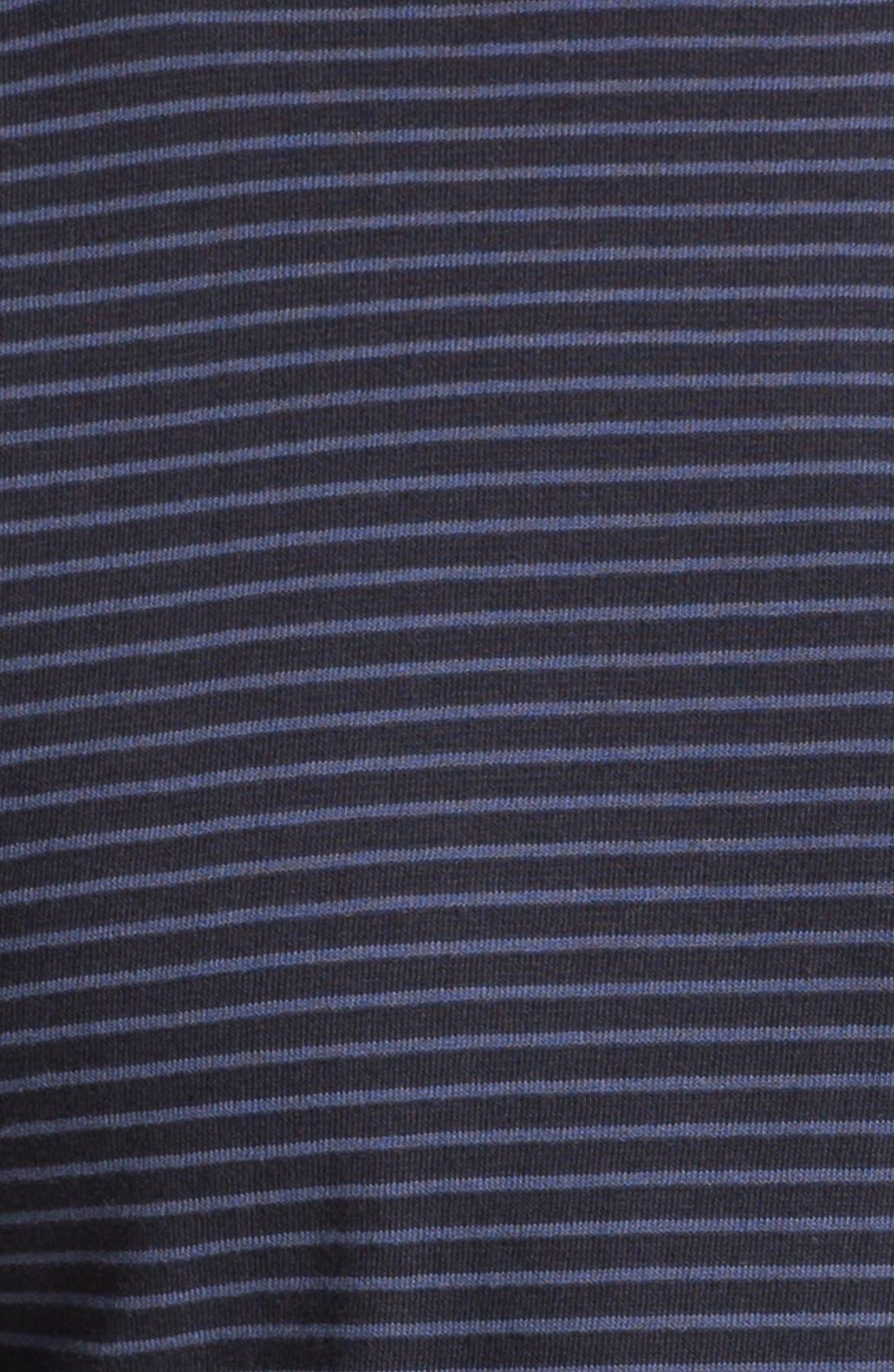 Alternate Image 3  - Steven Alan Stripe Print Pocket T-Shirt