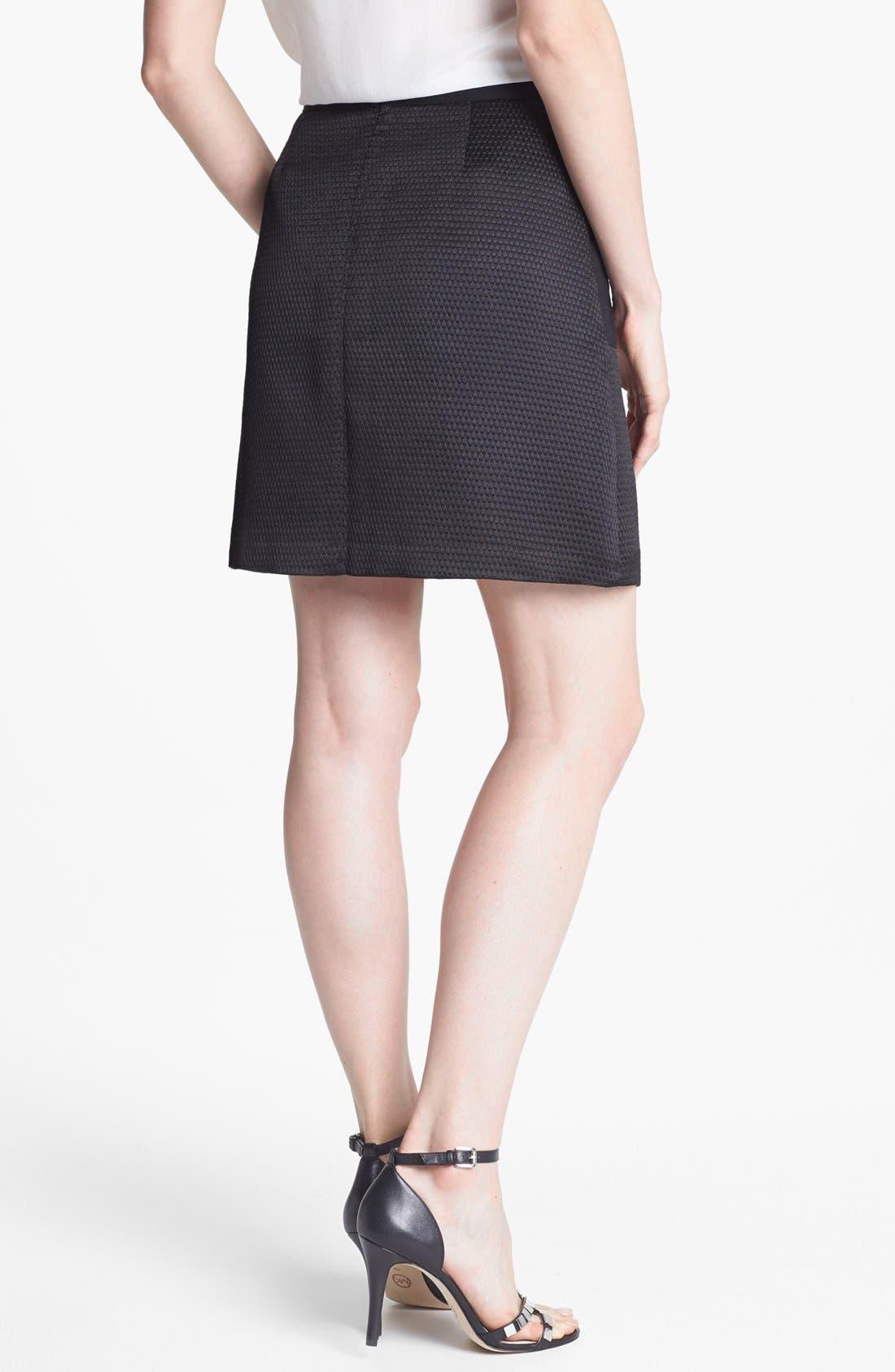 Alternate Image 2  - Halogen® Jacquard A-Line Skirt