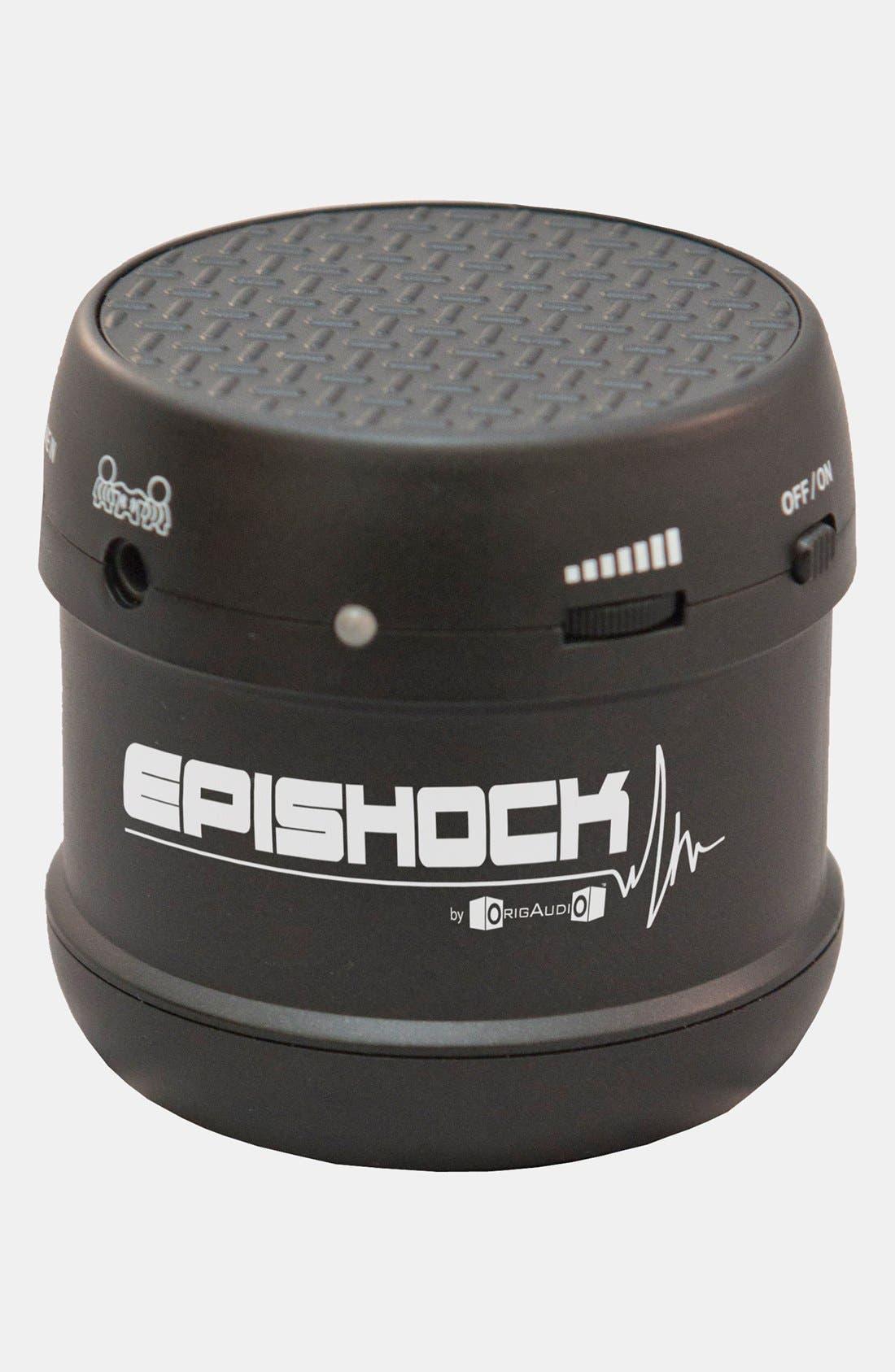 Alternate Image 1 Selected - 'Epishock' Portable Surface Vibration Speaker
