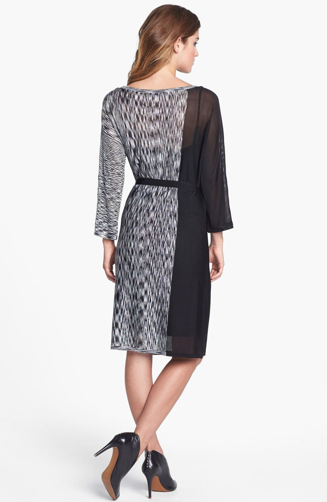 Alternate Image 2  - Trina Turk Print Tie Waist Shift Dress