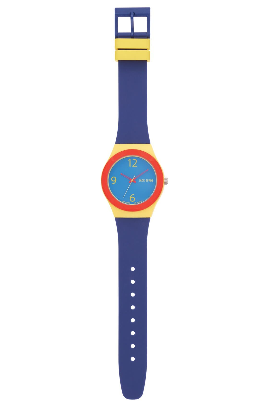 Alternate Image 3  - Jack Spade 'Graphic' Colorblock Watch, 38mm