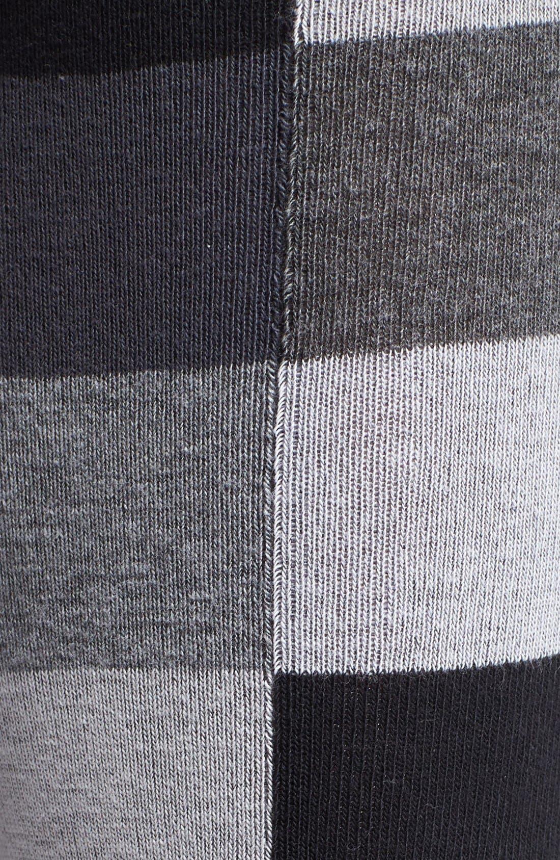 Alternate Image 2  - Hue Colorblock Knee High Socks