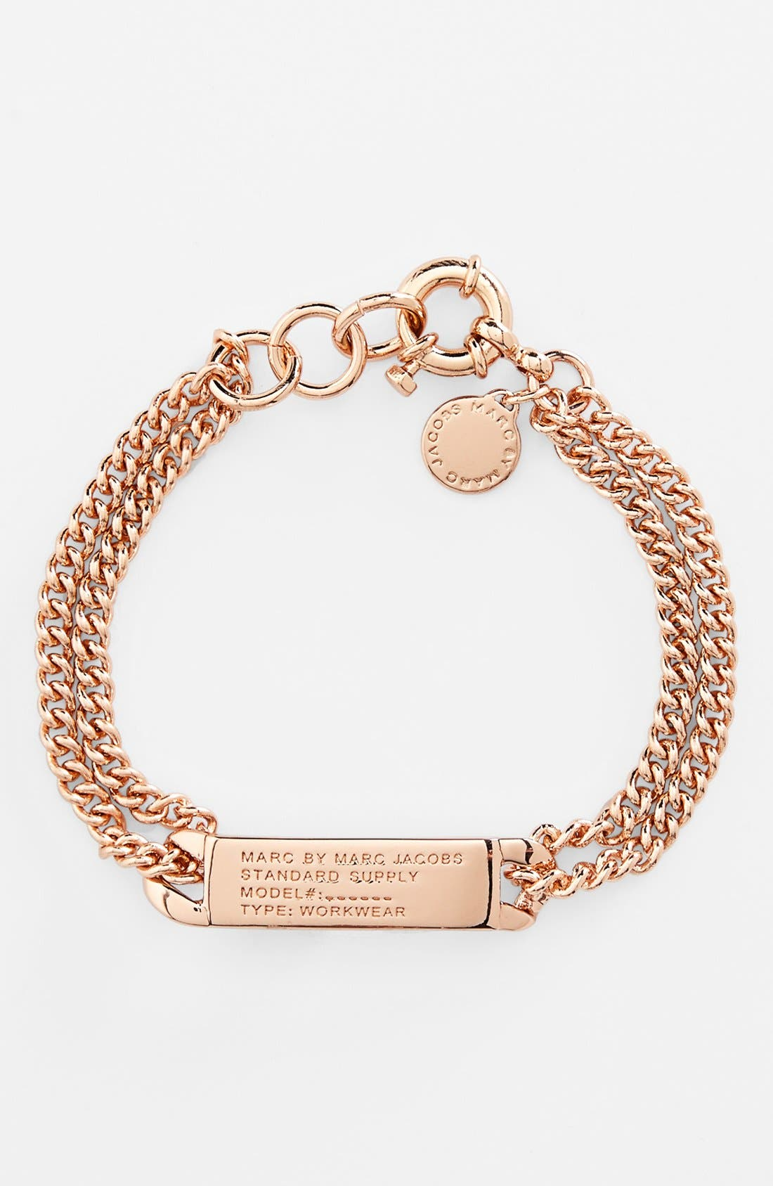 Alternate Image 1 Selected - MARC BY MARC JACOBS 'Standard Supply' ID Bracelet