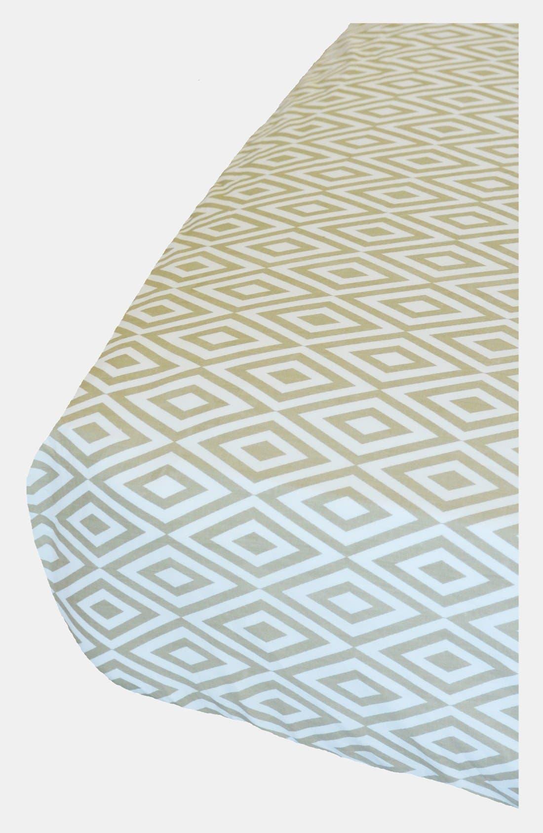 Alternate Image 1 Selected - Oliver B 'Diamond' Crib Sheet