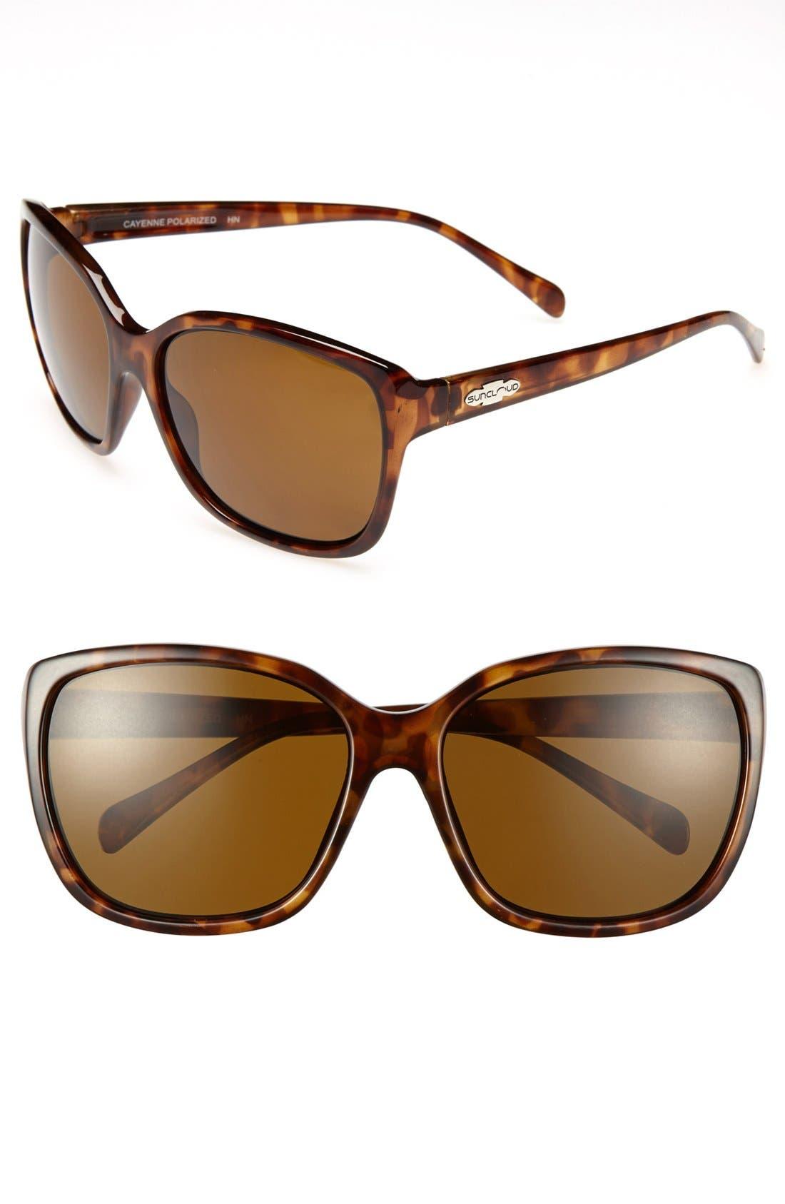 Main Image - Suncloud 'Cayenne' 58mm Polarized Sunglasses