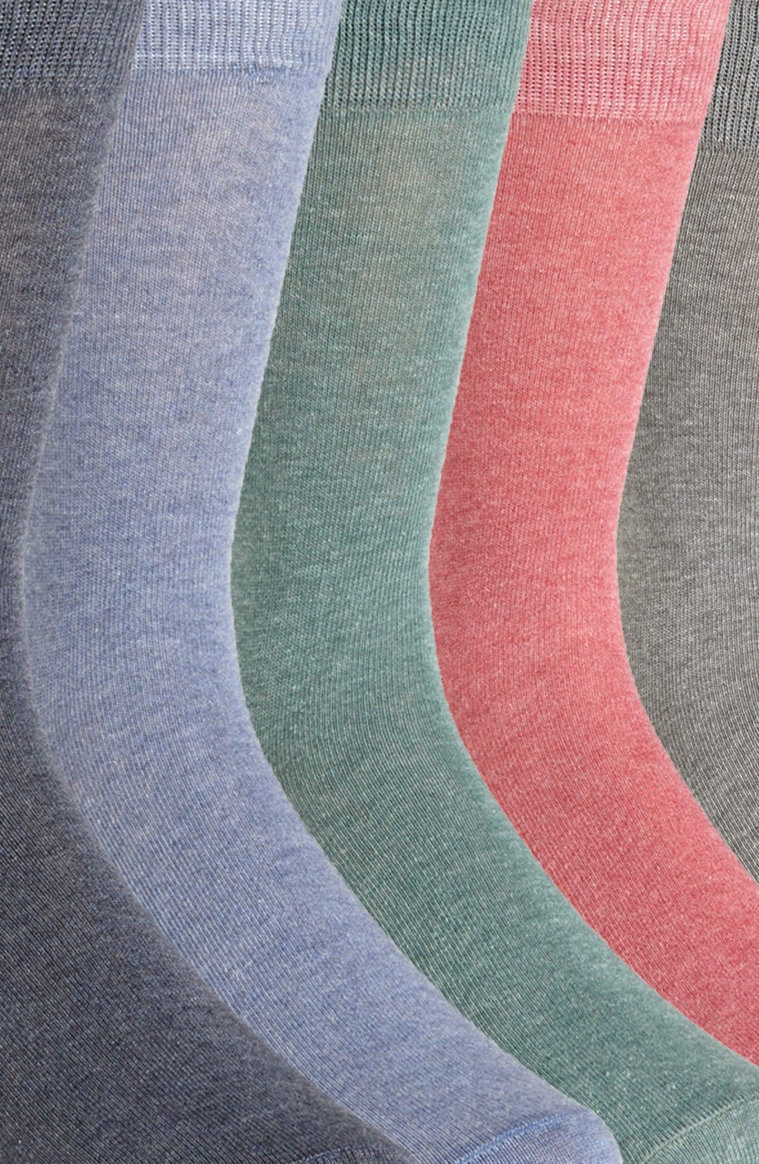 Alternate Image 2  - Topman Socks (Assorted 5-Pack)
