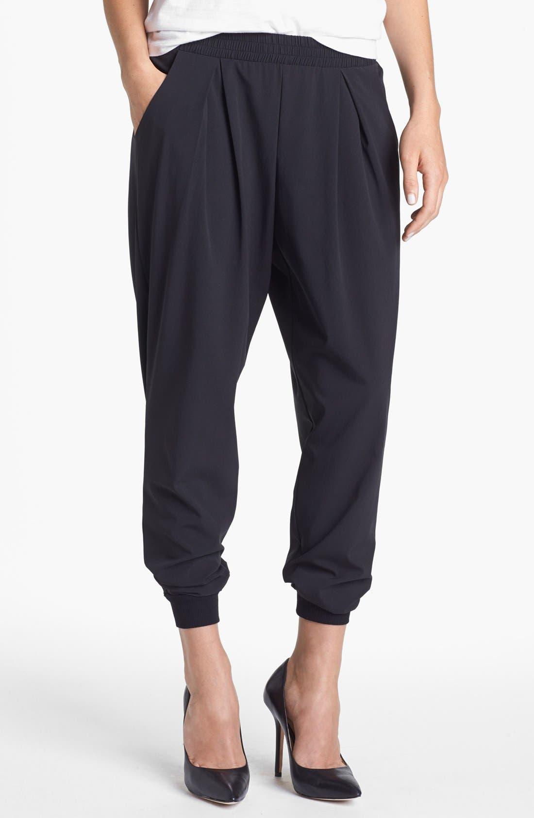 Alternate Image 1 Selected - Bobeau Woven Track Pants