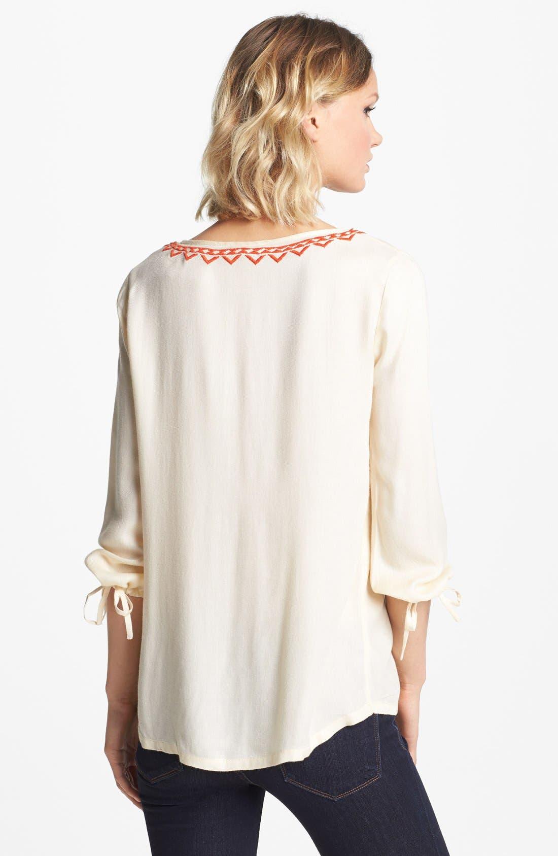 Alternate Image 2  - Soft Joie 'Calathia' Embroidered Tunic