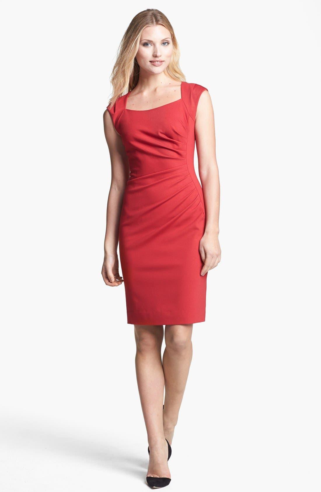 Alternate Image 1 Selected - Classiques Entier® 'Pezza Ponte' Sheath Dress