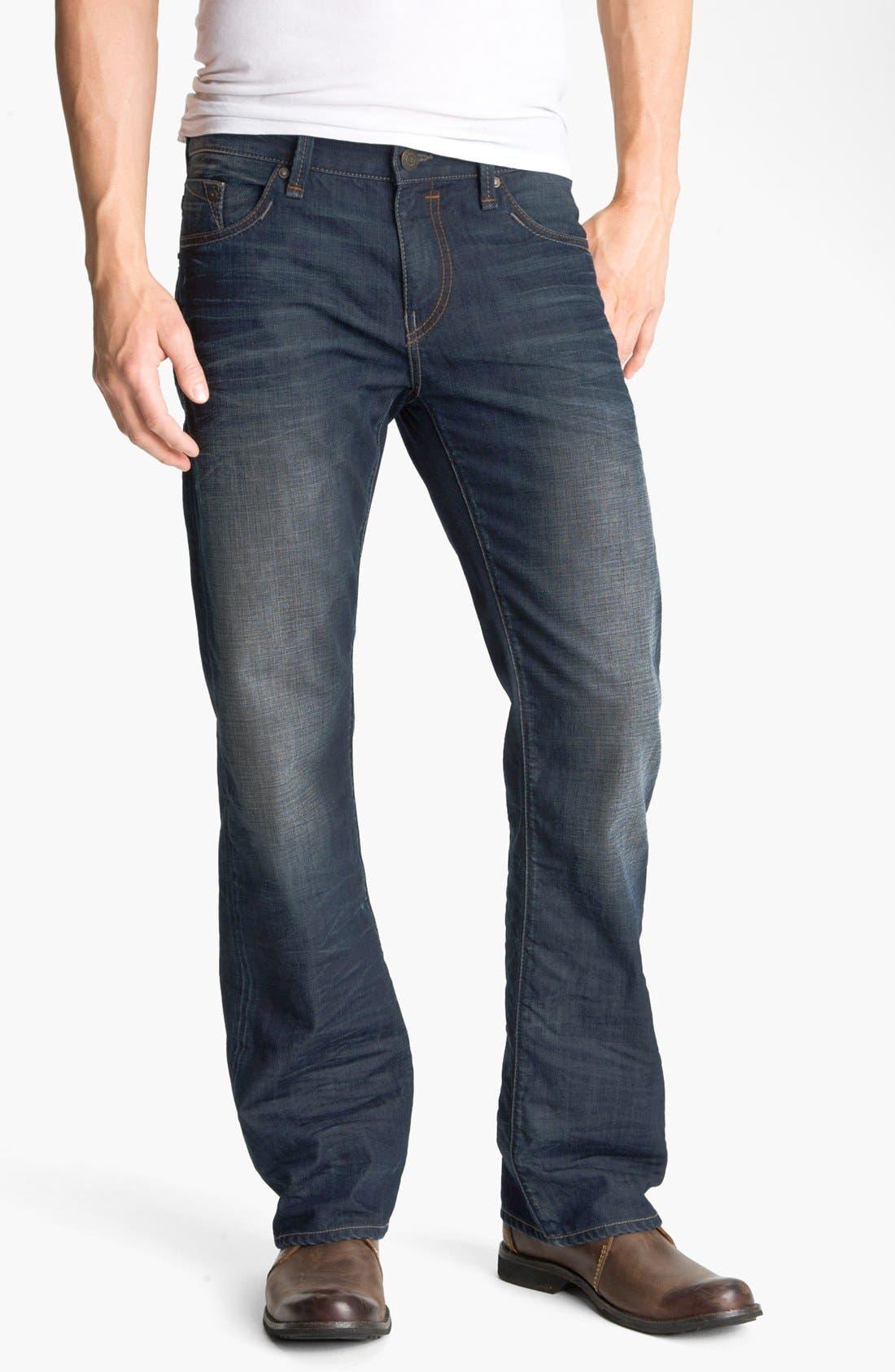 Alternate Image 2  - Mavi Jeans 'Josh' Bootcut Jeans (Coated Jameson) (Online Only)