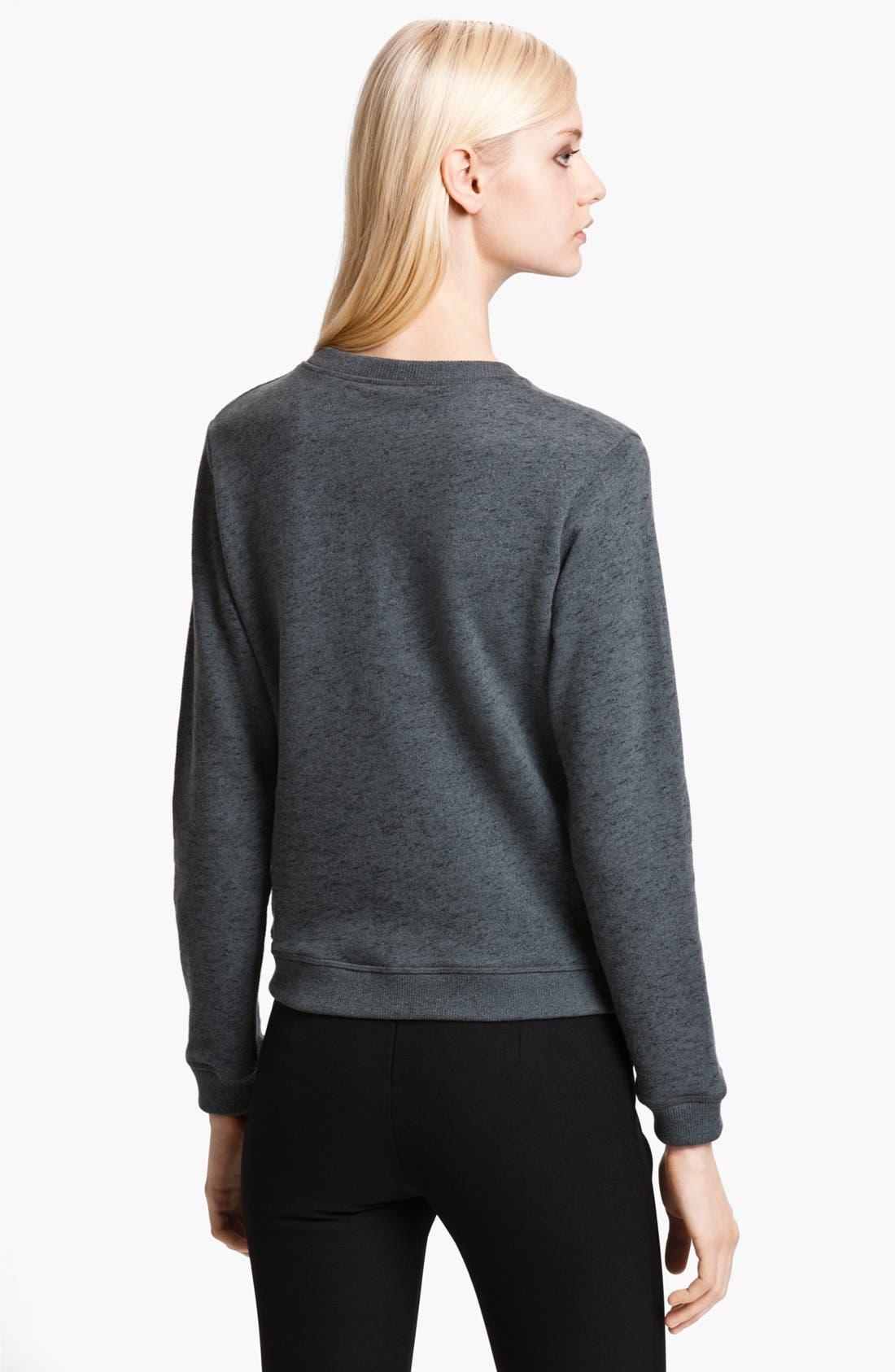 Alternate Image 2  - KENZO Embroidered Tiger Sweatshirt