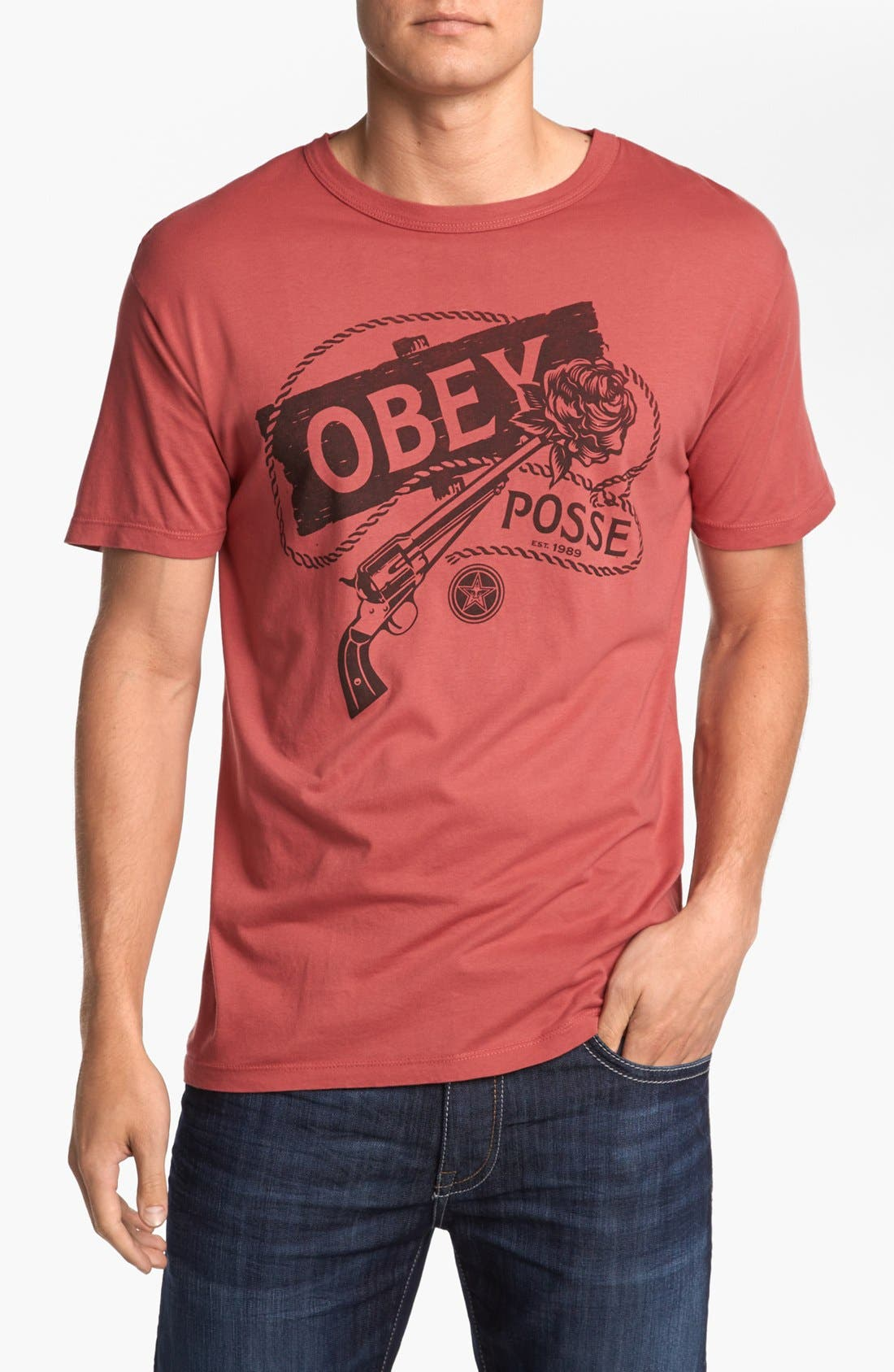Alternate Image 1 Selected - Obey 'Young Guns' T-Shirt