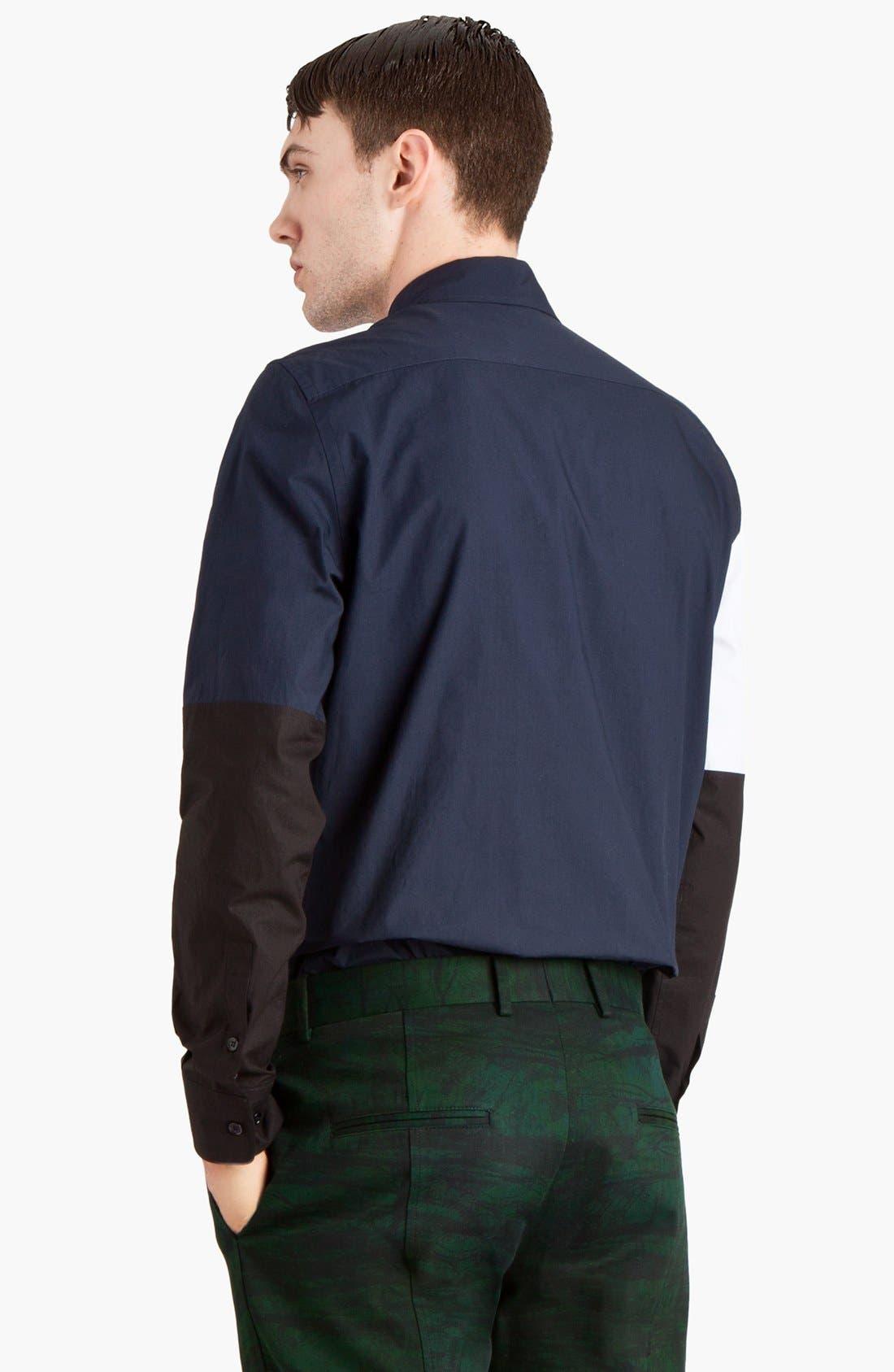 Alternate Image 2  - Marni Colorblock Woven Shirt