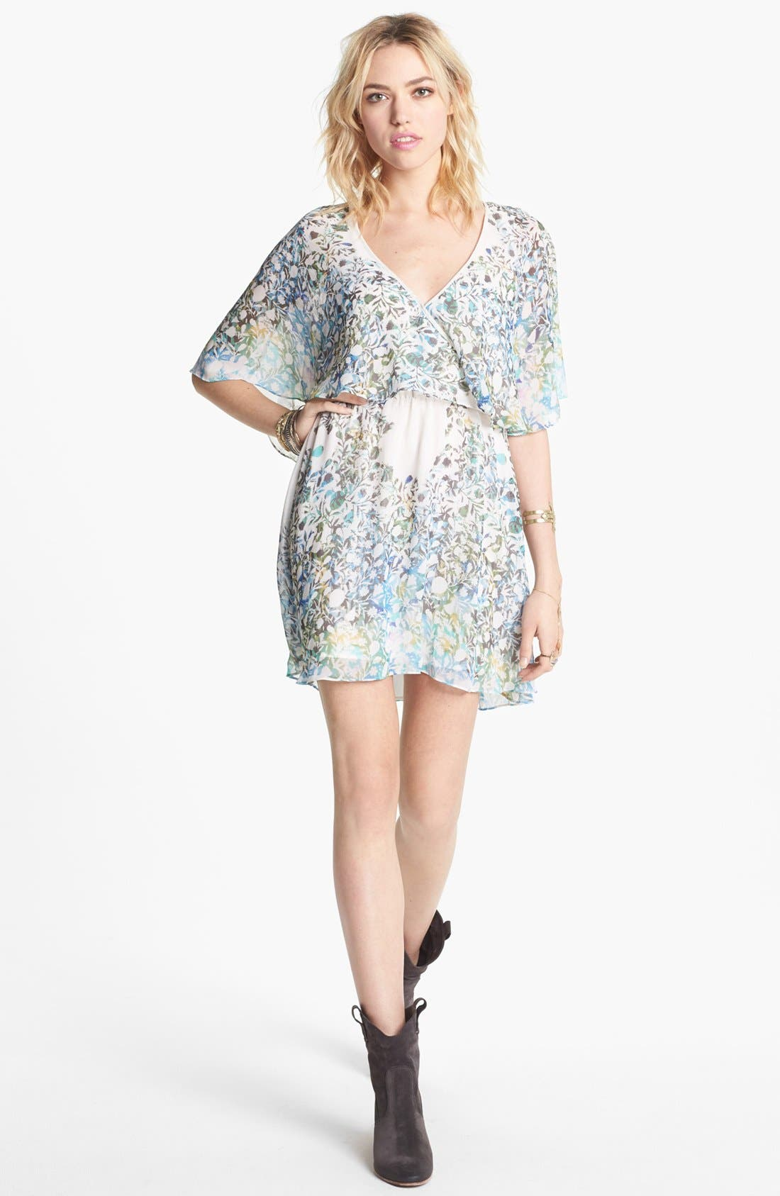 Main Image - Free People 'Sparks Fly' Blouson Dress