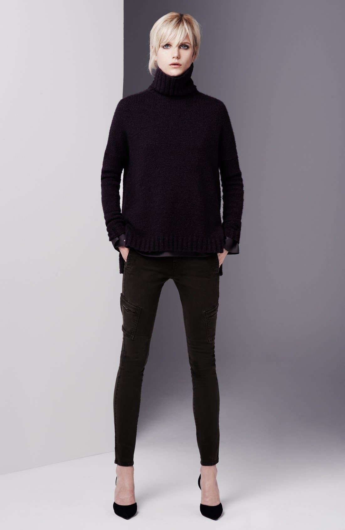 Alternate Image 5  - Vince Colored Slim Leg Cargo Stretch Jeans