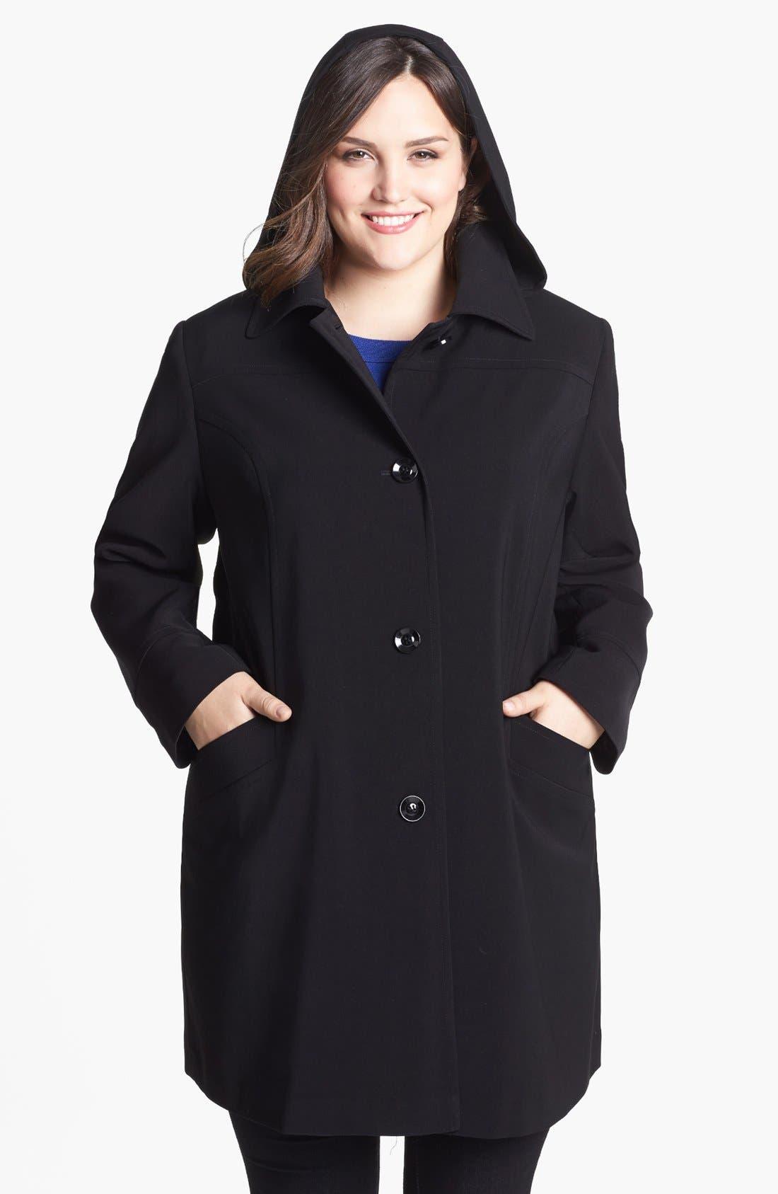 Alternate Image 4  - Gallery 'Napage' Raincoat (Plus Size)