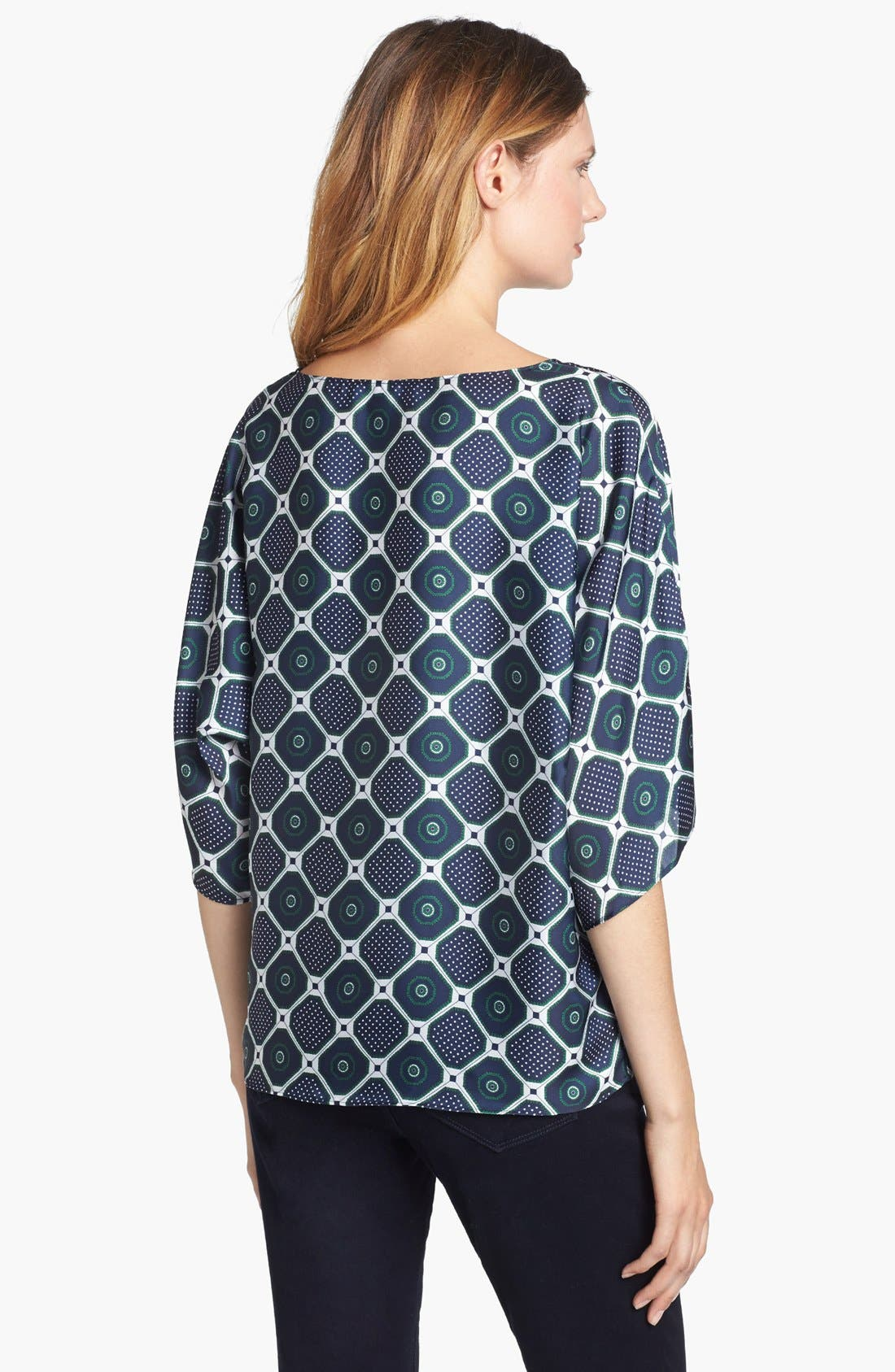 Alternate Image 2  - MICHAEL Michael Kors Drawstring Side Blouse