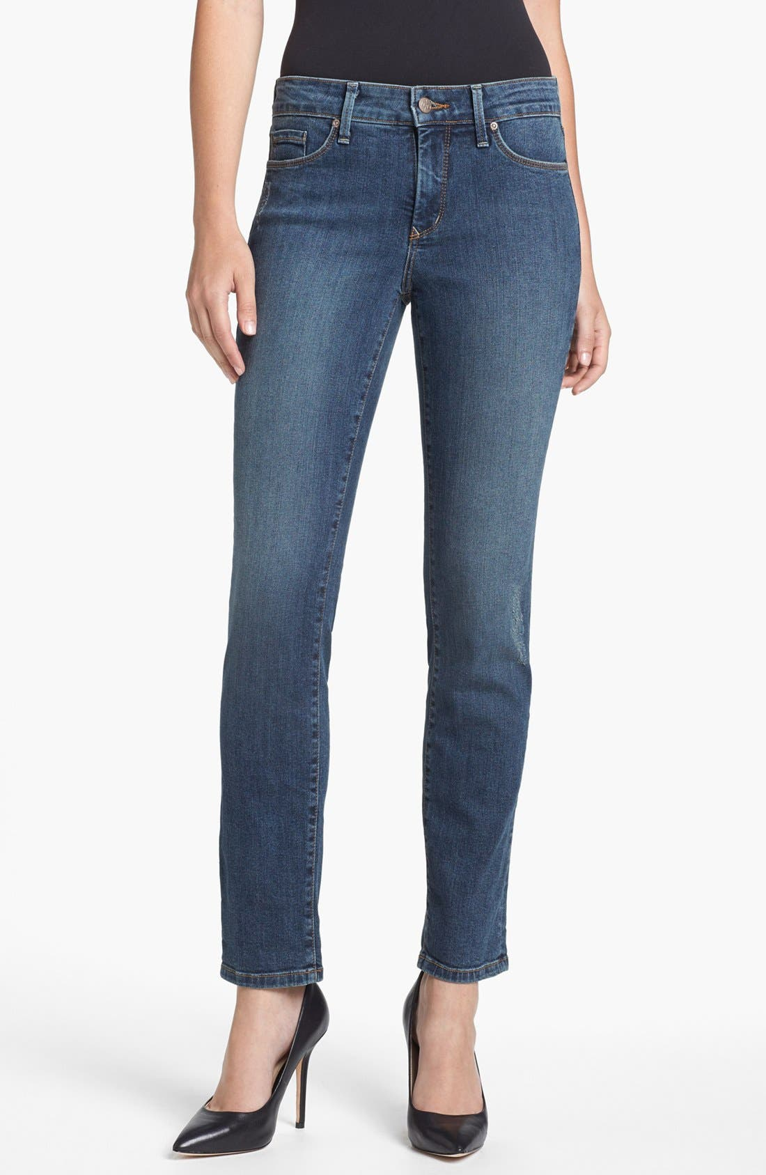 Alternate Image 2  - NYDJ 'Leann' Stretch Skinny Boyfriend Jeans (Loma Linda)