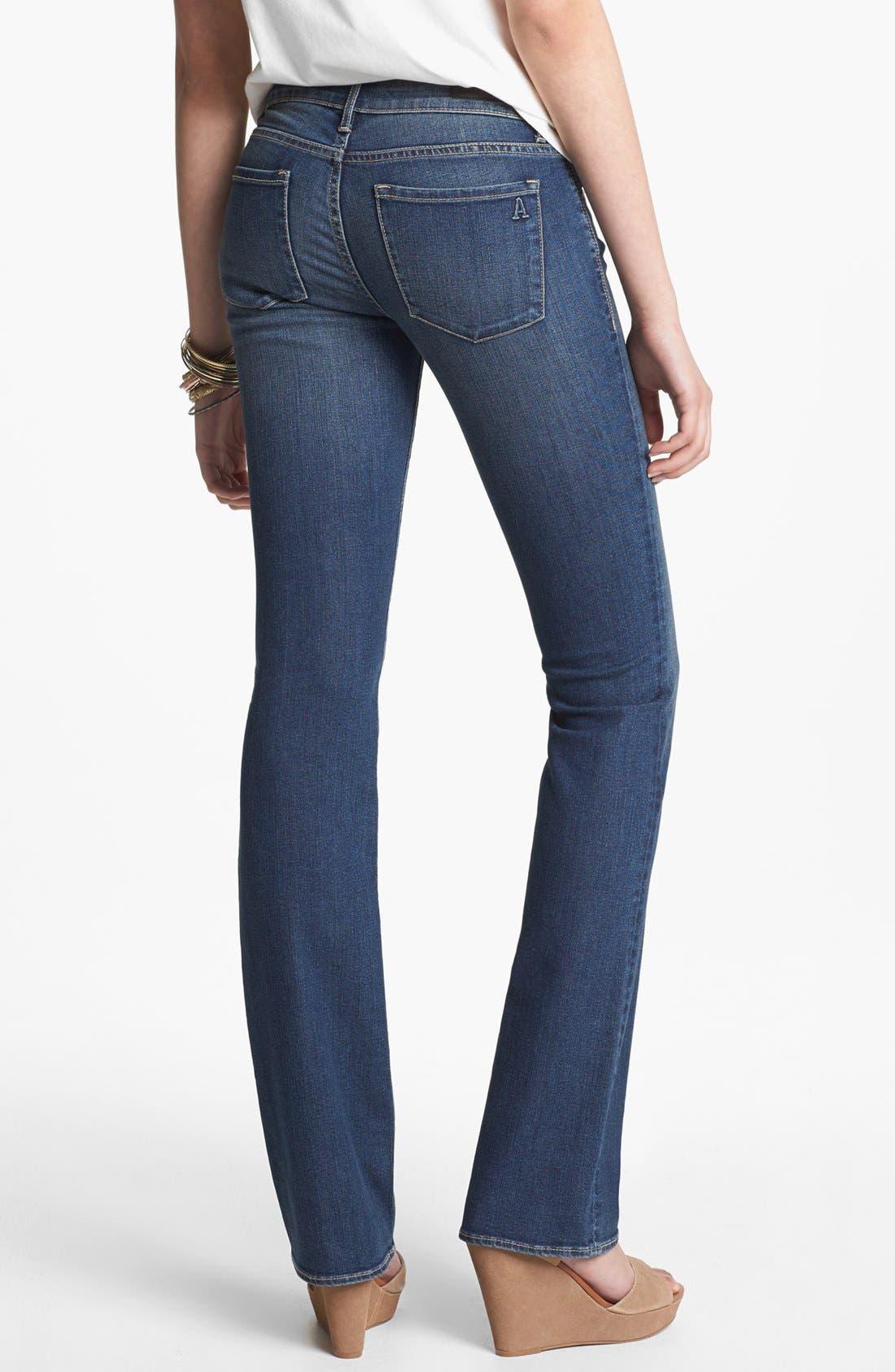 Alternate Image 2  - Articles of Society 'Kendra' Baby Bootcut Jeans (Medium) (Juniors)