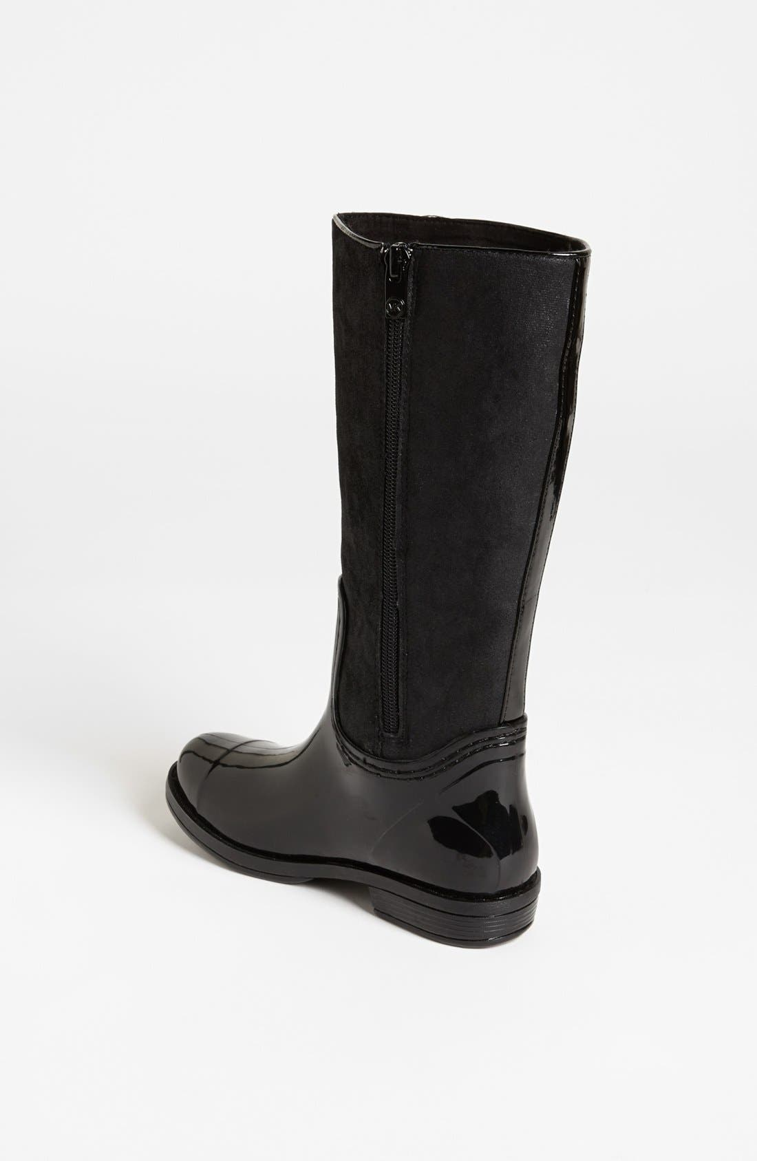 Alternate Image 2  - MICHAEL Michael Kors 'Daisy' Rain Boot (Little Kid & Big Kid)