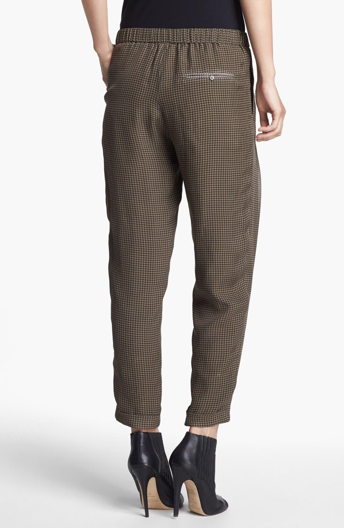 Alternate Image 2  - Haute Hippie Narrow Print Drawstring Trousers