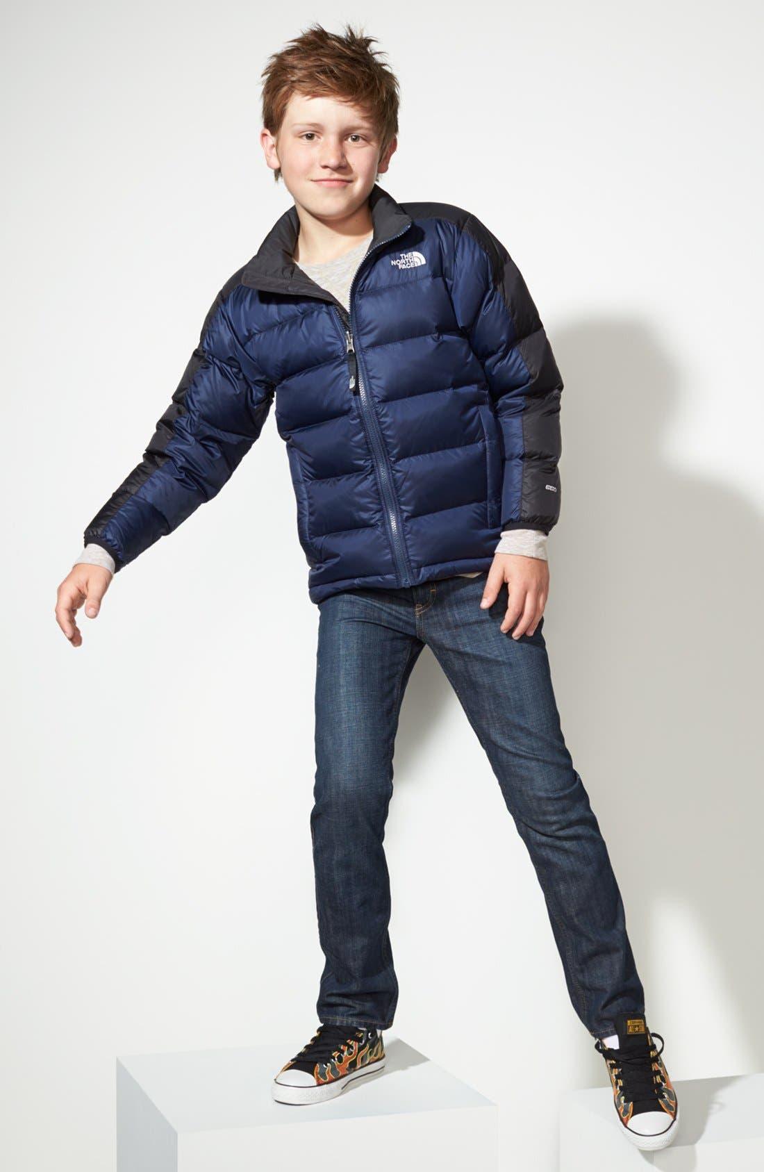 Main Image - The North Face Jacket, Tucker + Tate Shirt & Jeans (Big Boys)