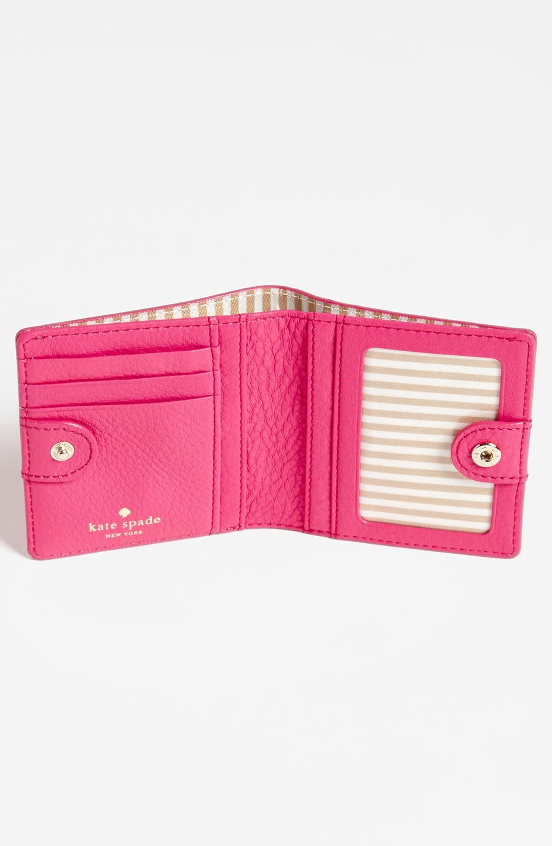 Alternate Image 3  - kate spade new york 'cobble hill - small stacy' leather wallet
