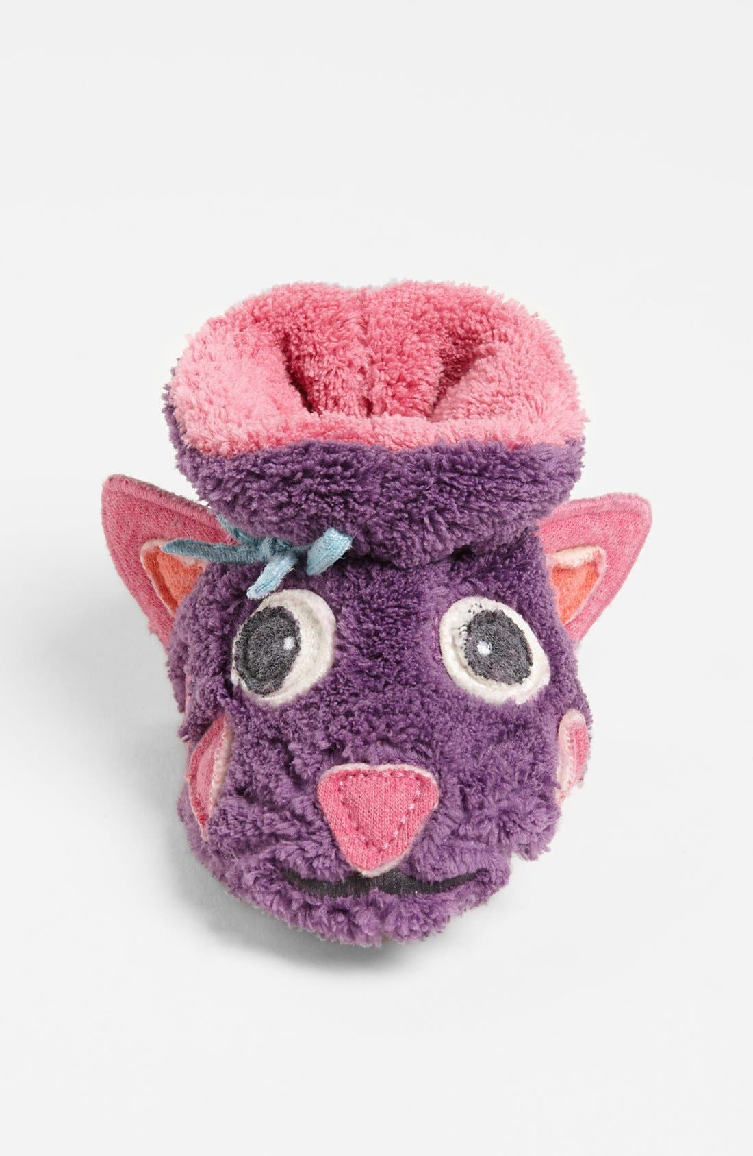 Alternate Image 3  - Acorn 'Kitty' Slipper (Baby, Walker & Toddler)