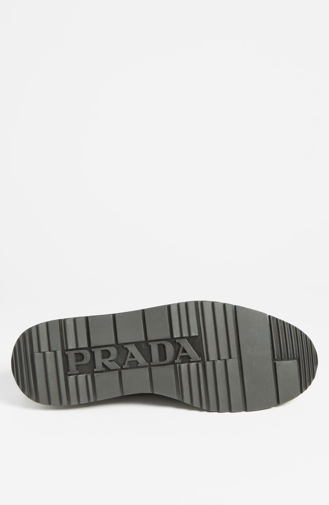 Alternate Image 4  - Prada Camo Wingtip Sneaker