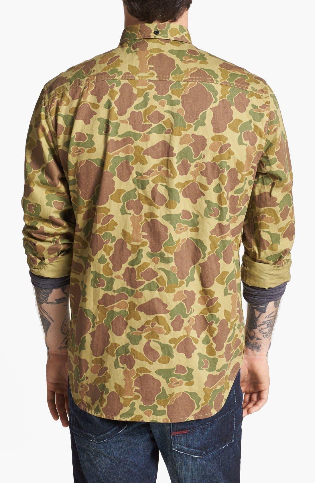Alternate Image 3  - Penfield 'Lumsden' Camo Print Work Shirt